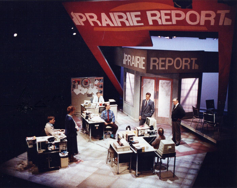 Prairie Report premiered at Workshop West Theatre in Edmonton in 1988, winning the Edmonton-based Sterling Award the following year. (Morris Ertman)