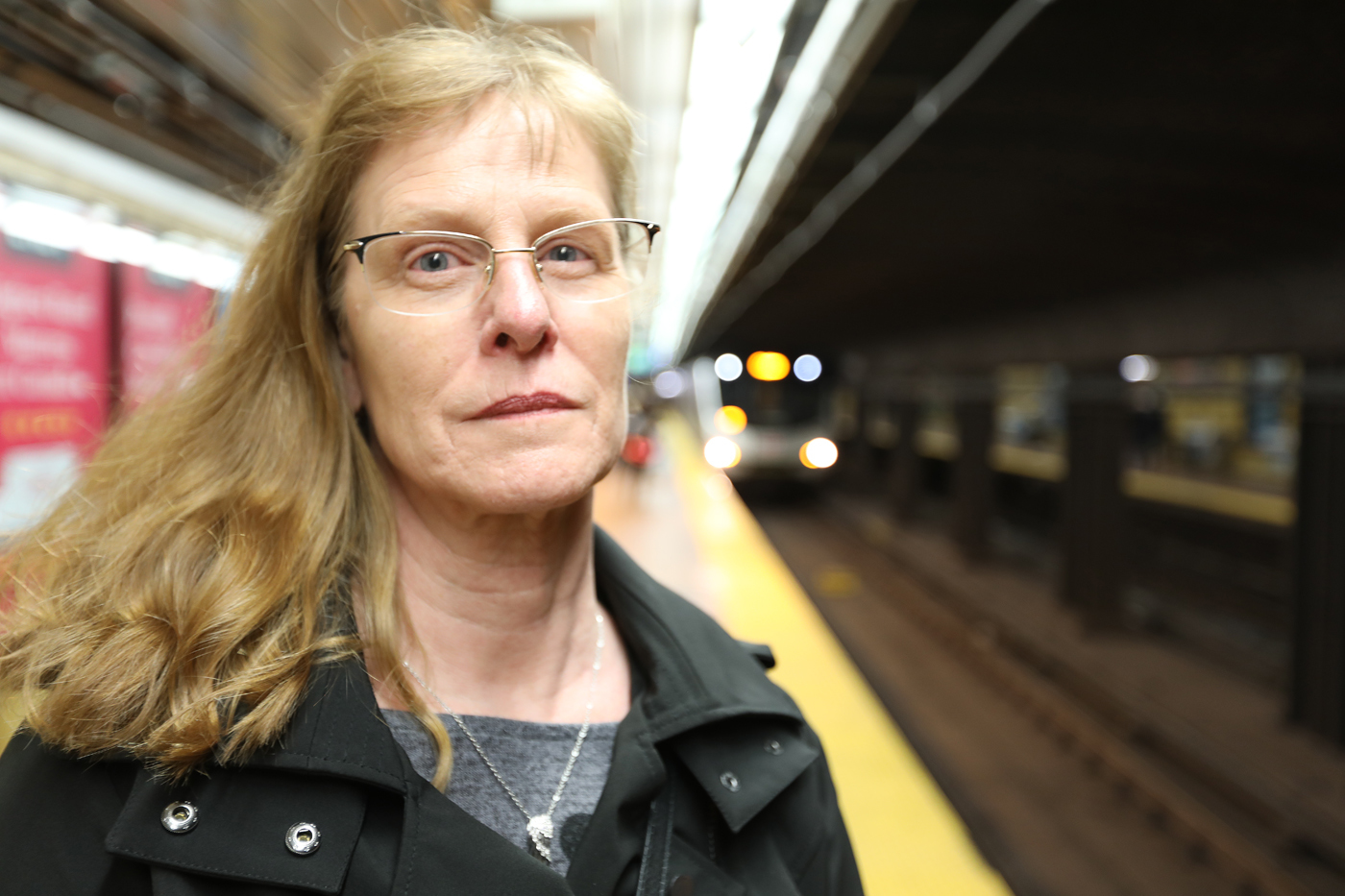 Karen Padbury's son Michael died on Toronto's subway. She supports the TTC's decision to acknowledge it publicly, and hopes commuters will get involved to help prevent subway suicide. (Ousama Farag/CBC)