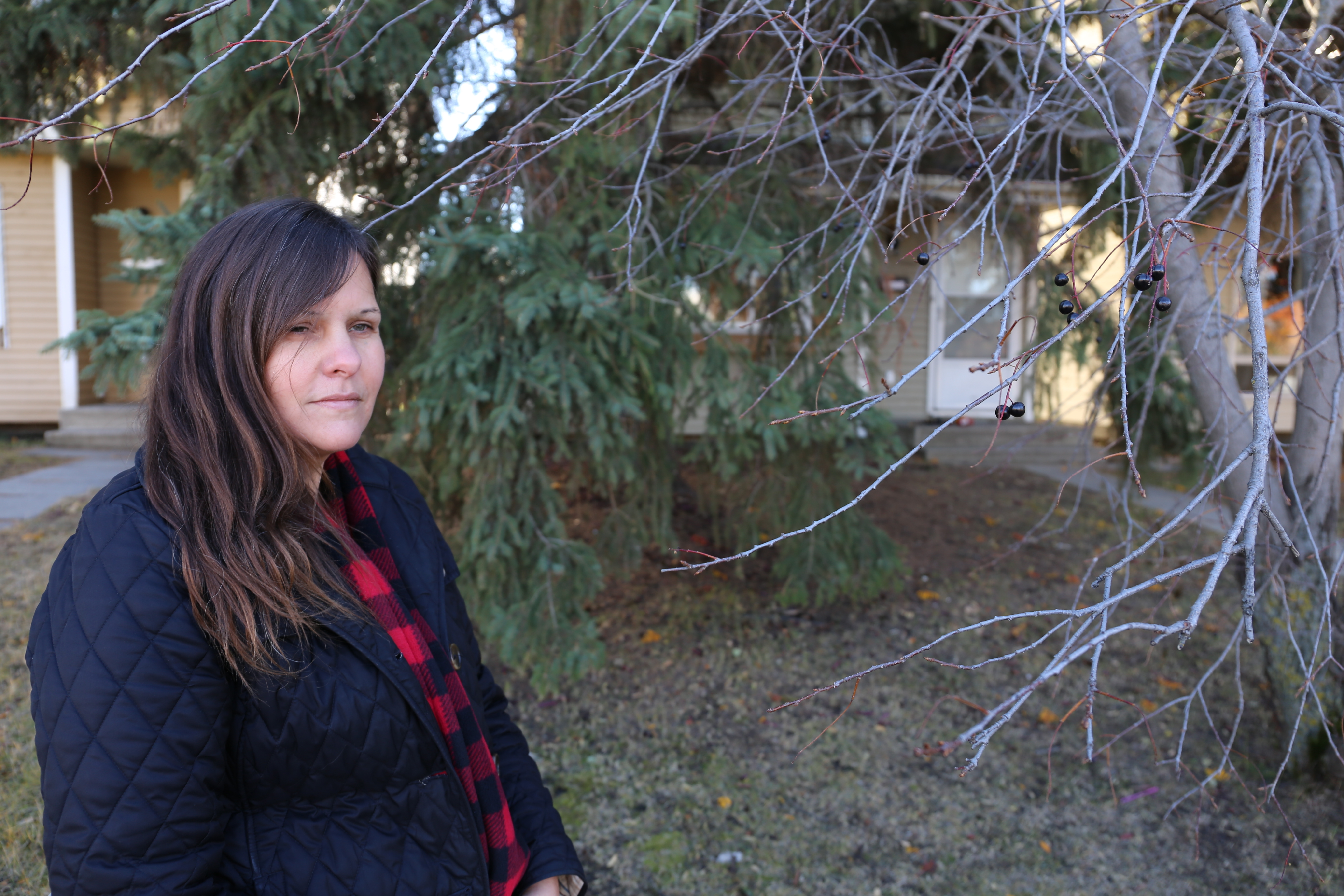Hailey Mills revisited the home she lived in for 17 years on Oct. 19 for the first time since she moved out.