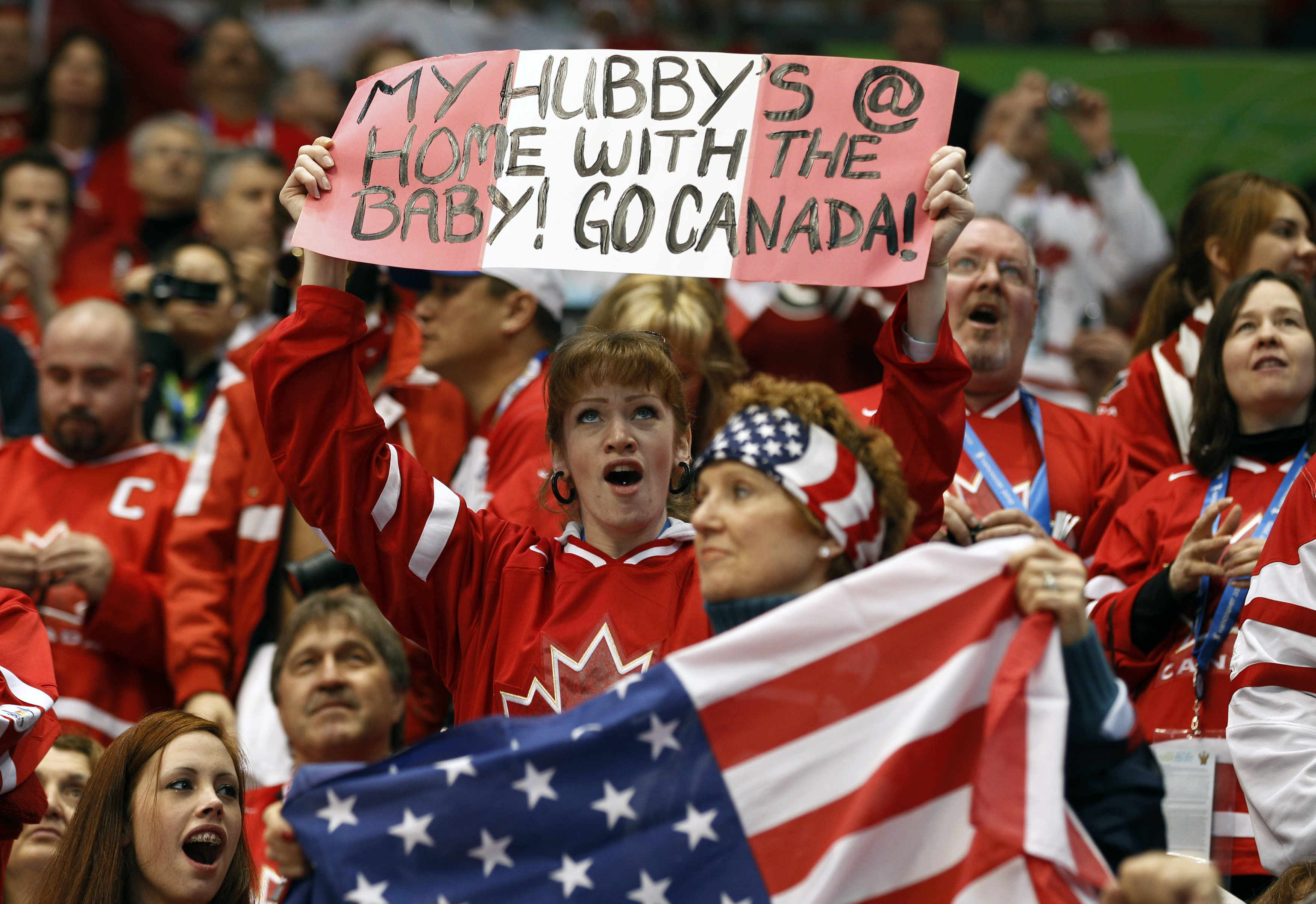 The 2010 Olympics men's hockey final was the most-watched hockey game in 30 years. (Hans Deryk/Reuters)