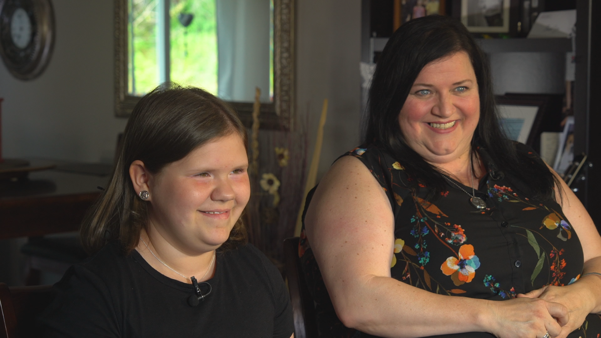 Now, 11-year-old Brygette Park and her mom are relieved that she's a happy and healthy girl. (Gary Quigley/CBC)