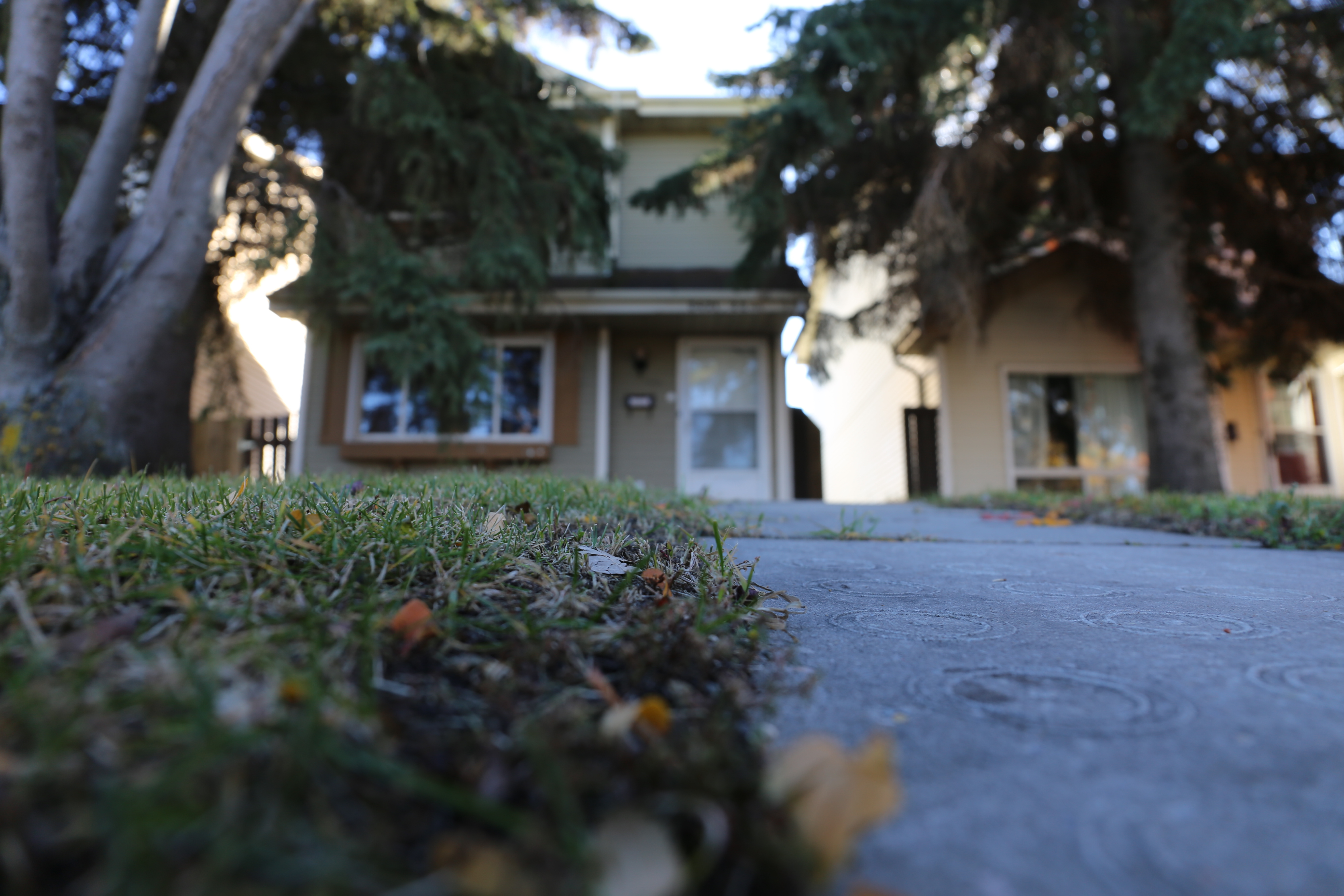 Hailey Mills believes spirits were living in her Mill Woods home. (Kory Siegers/CBC Edmonton)