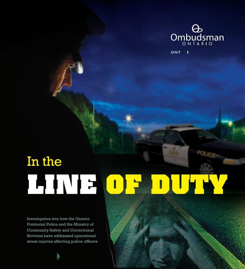 Ombudsman André Marin provided the OPP with 34 recommendations in 2012 on how to better handle mental health issues with in the force. (Ombudsman Ontario)