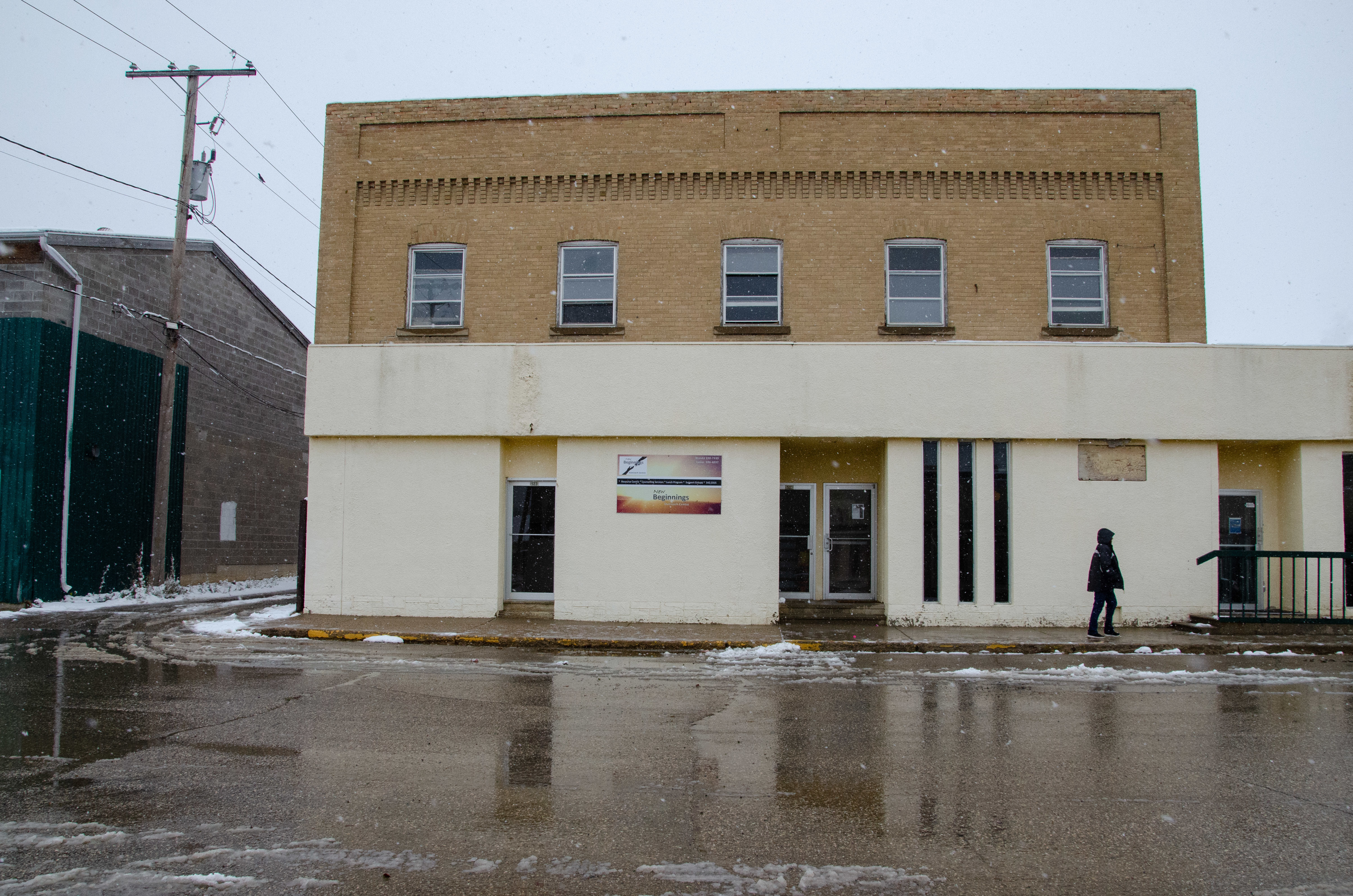 The demand is constant for the New Beginnings Outreach Centre, which filled a gap in the community. There, programming is offered to those who seek to change and a welcoming atmosphere is created for those who aren't yet ready to.