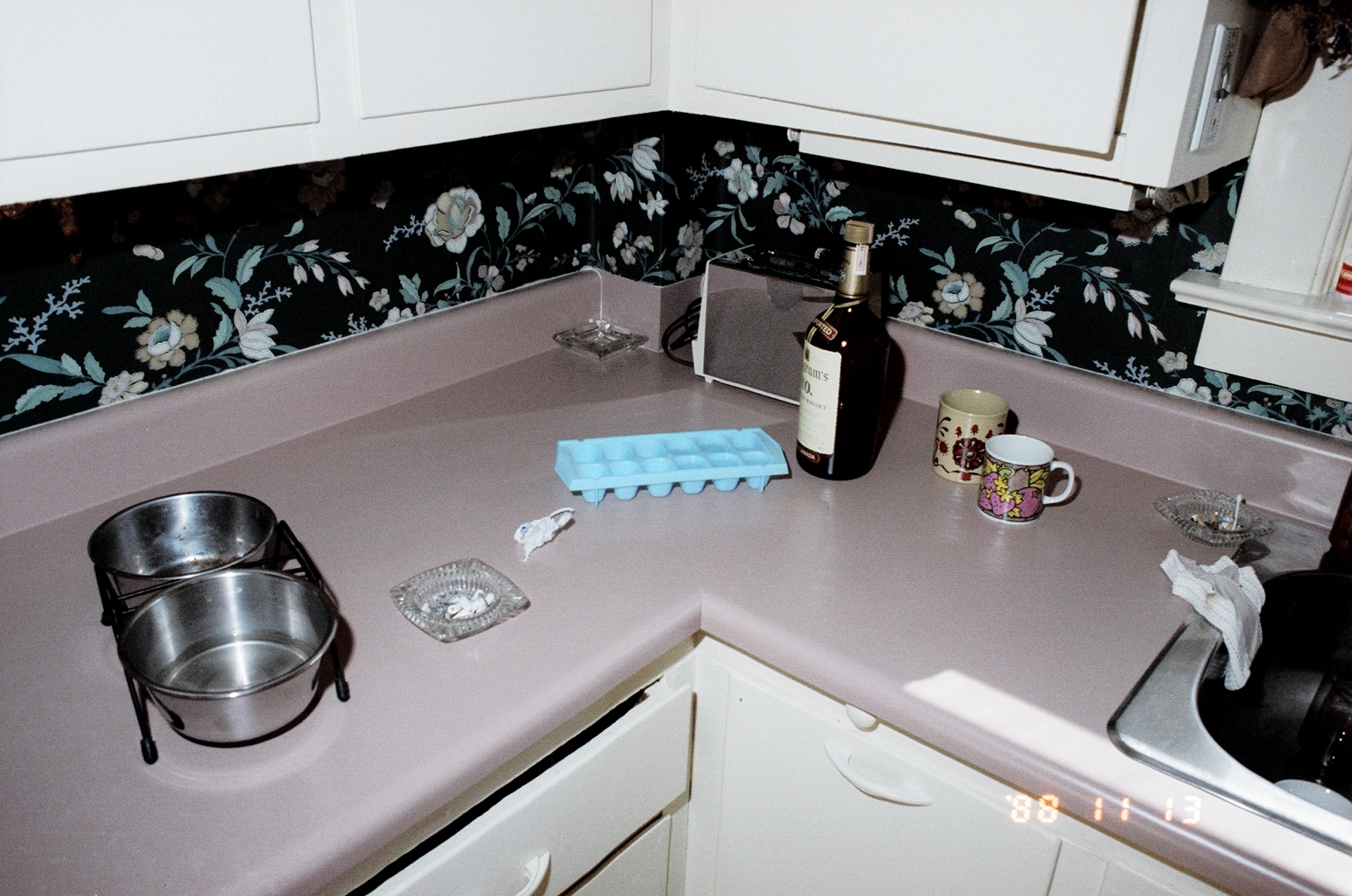 This is how police found the kitchen when investigating the murder. Carr had gone out after having friends over without having a chance to clean up his dishes. (Submitted by Charlottetown Police)