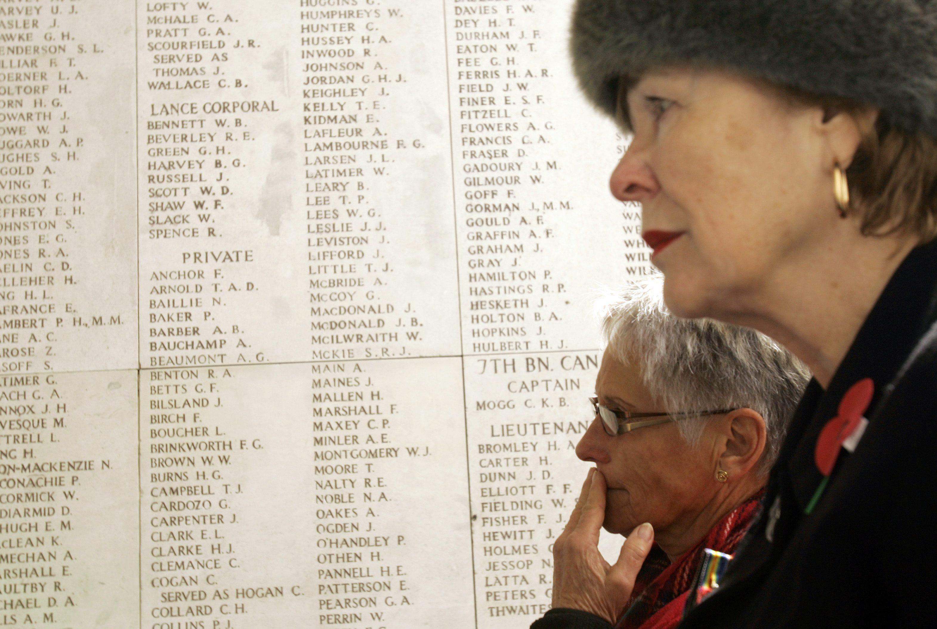 Menin Gate in Ypres. (Canadian Press)