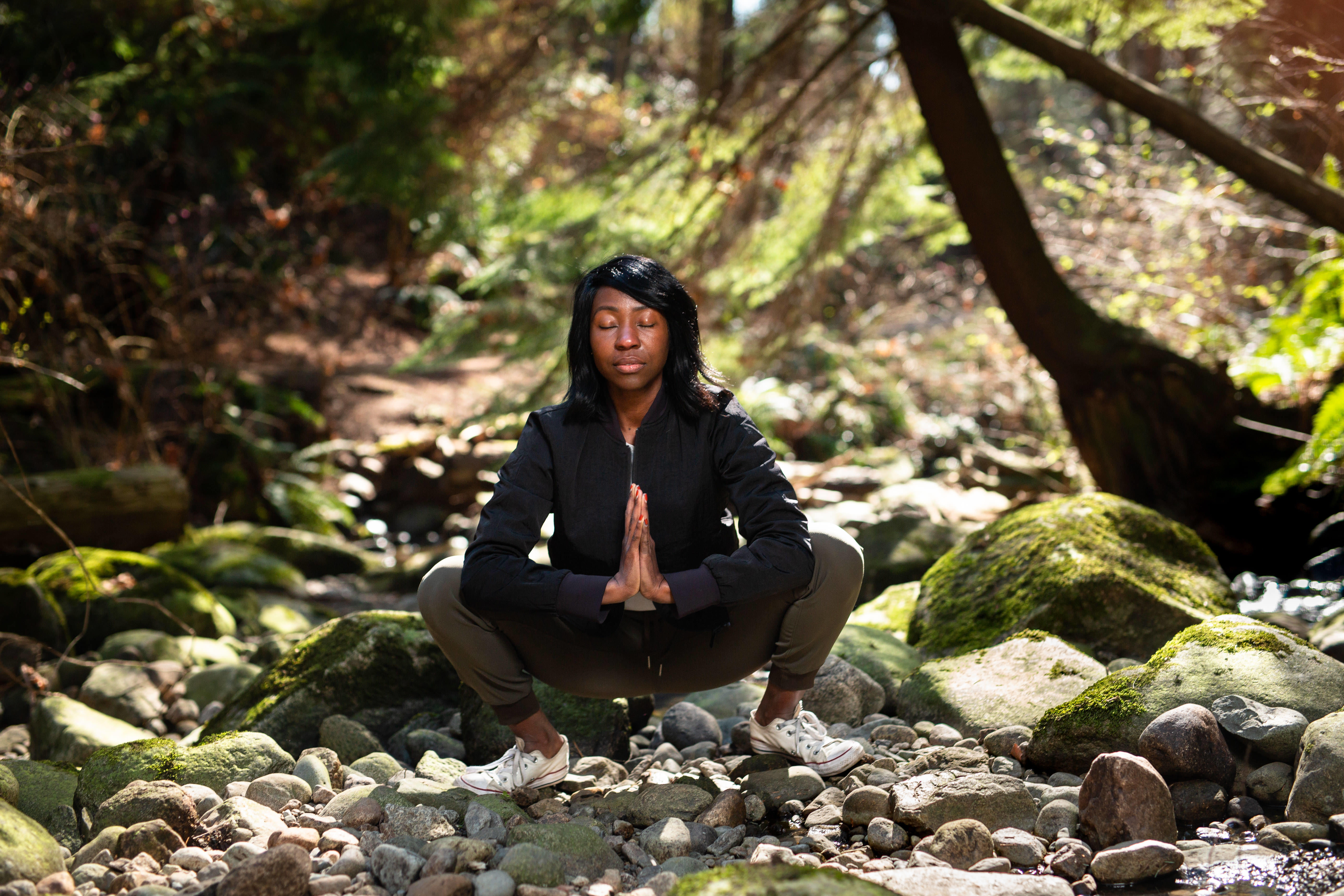 Melissa Nkomo is a yoga instructor and wellness lifestyle business owner.