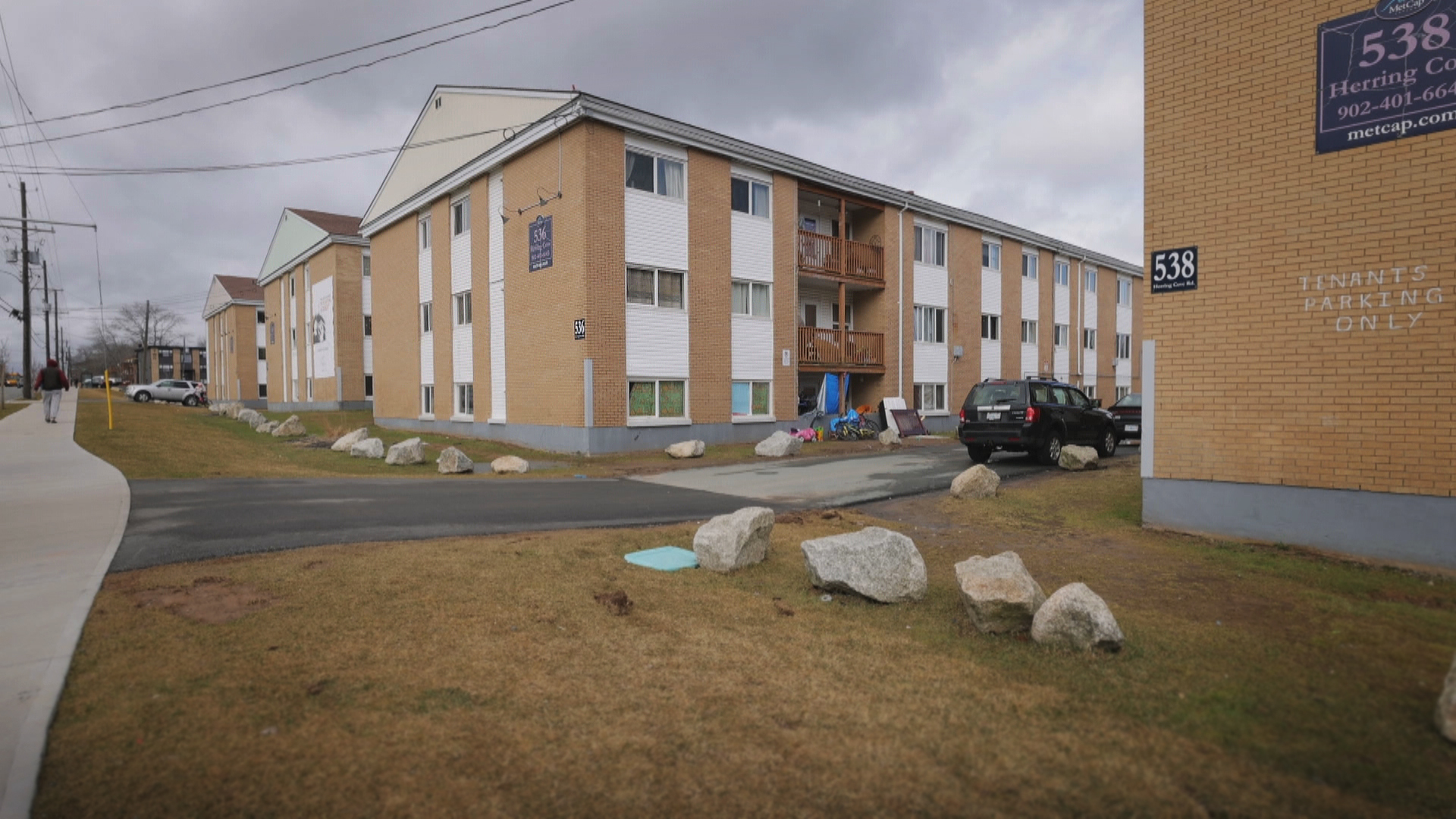 The 500 block of Herring Cove Road in Spryfield. (Robert Short/CBC)