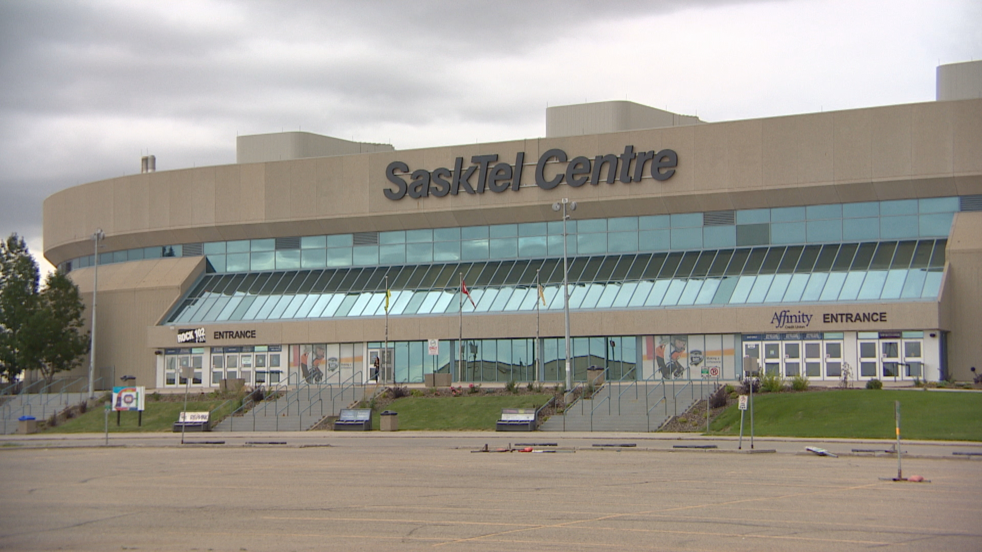 """A consultant hired by SaskTel Centre to size up the building says it's """"dated"""" and not up to grade compared to other North American arenas that are either new or currently under construction. (CBC)"""