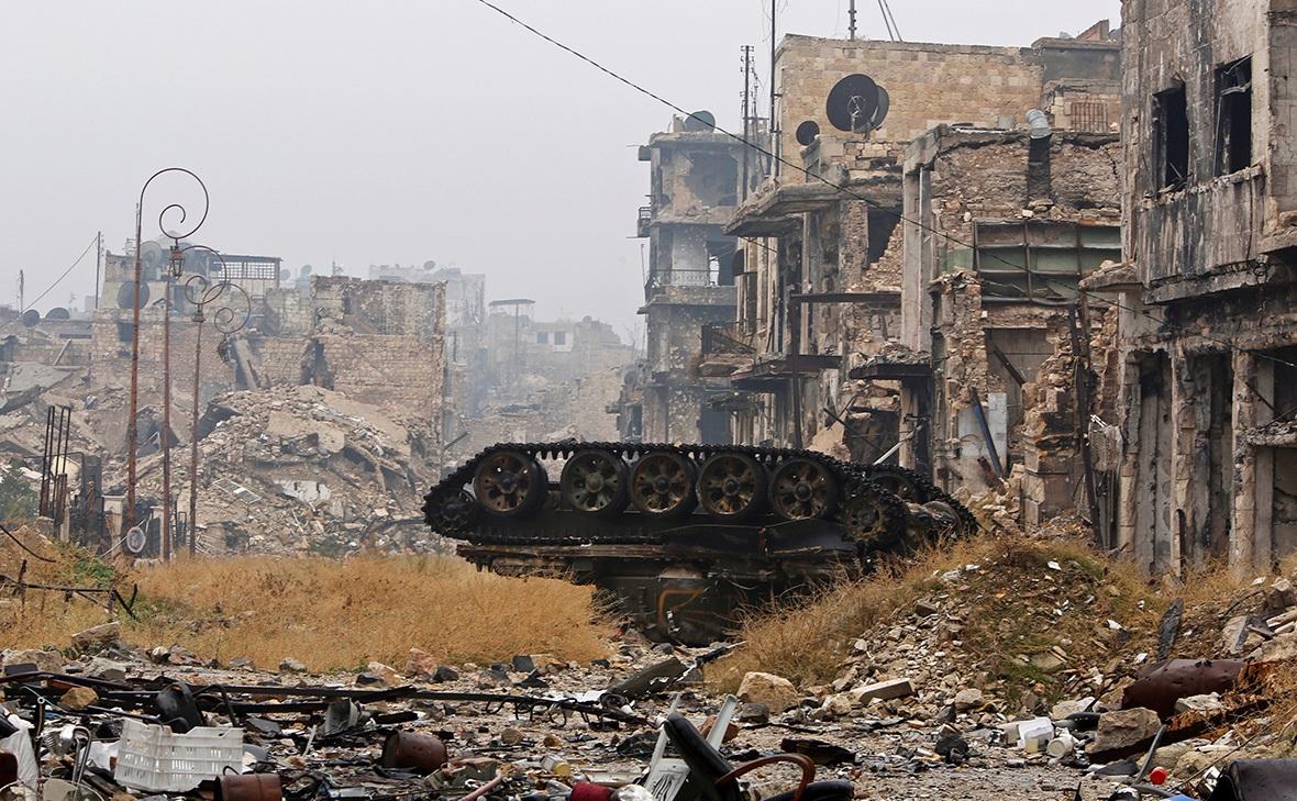 Aleppo Syria Tank