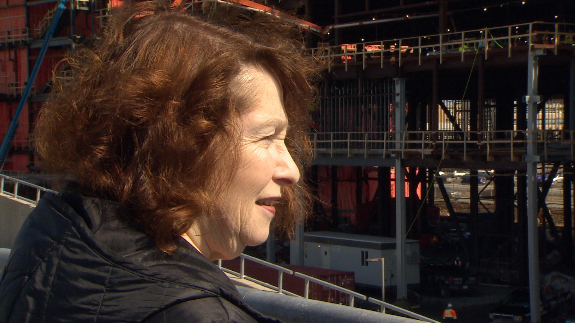 Ann Browne is leading the Core Science construction project at Memorial University. (CBC)