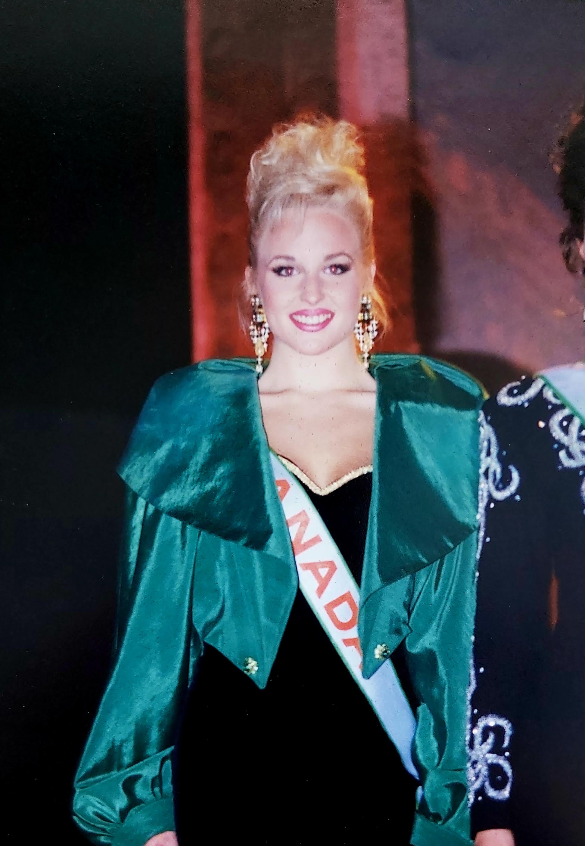 April Telek had recently represented Canada at the Miss Asia Pacific Quest pageant in the Philippines when Telek says she was offered an opportunity to do some modelling for one of Peter Nygard's new clothing lines in Winnipeg in 1993. (Miss Asia Pacific Quest)