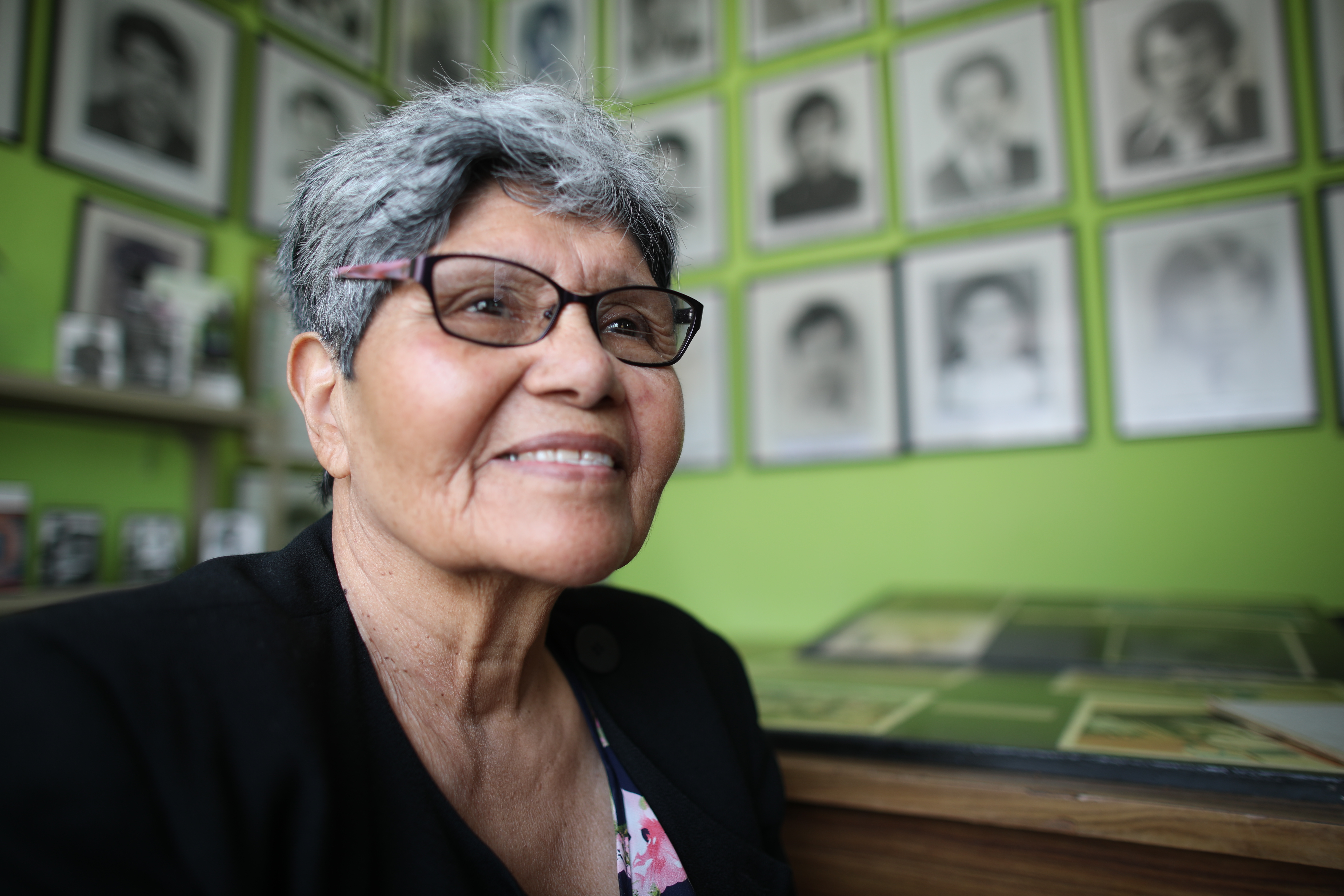 Aura Elena Farfan was the first person to actively investigate the Dos Erres massacre, about 12 years after it took place. (Ousama Farag/CBC)