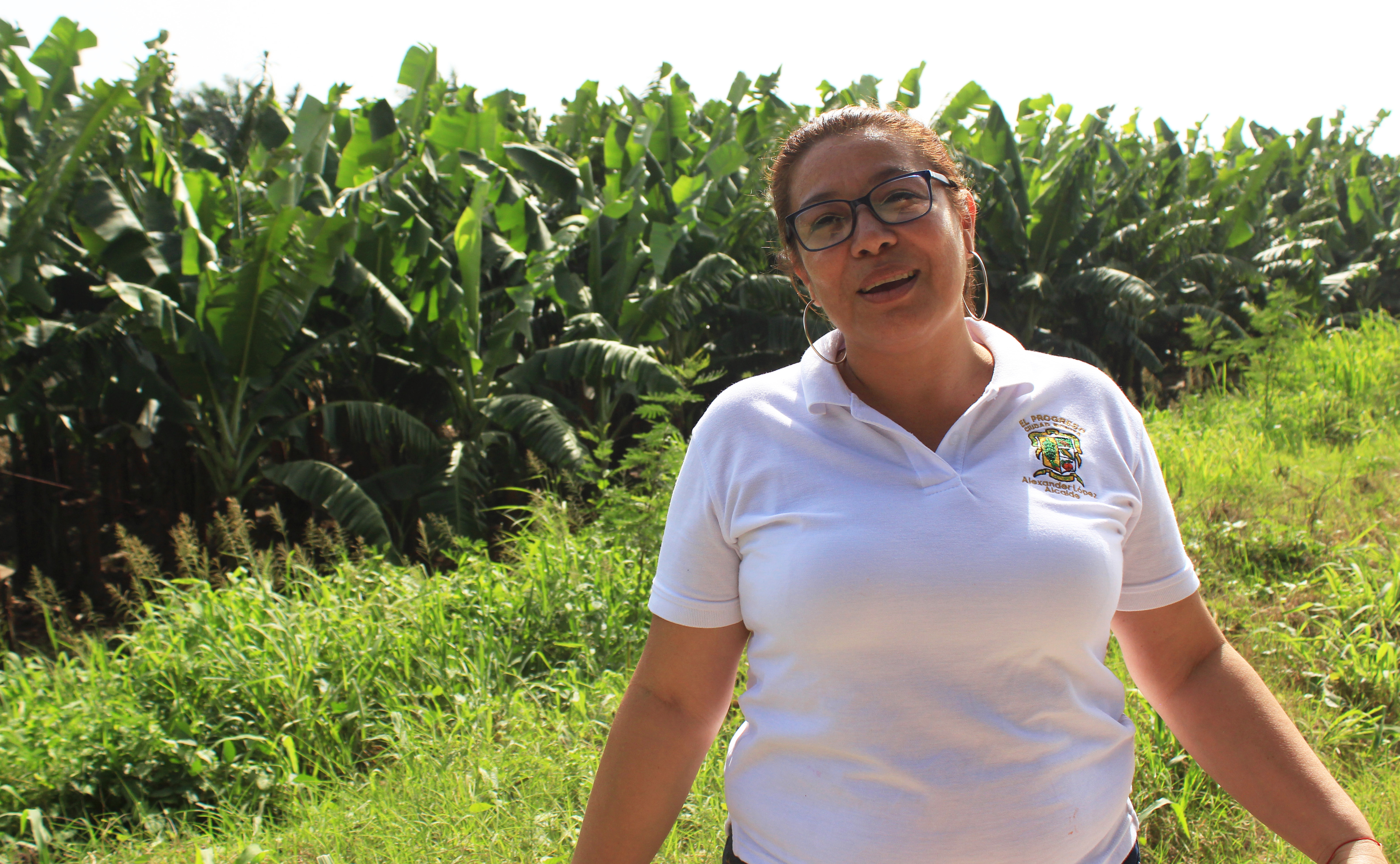 Gisela Cruz, the manager of the museum, says she only has good memories of her time living on the banana plantations. (María José Burgos/CBC)