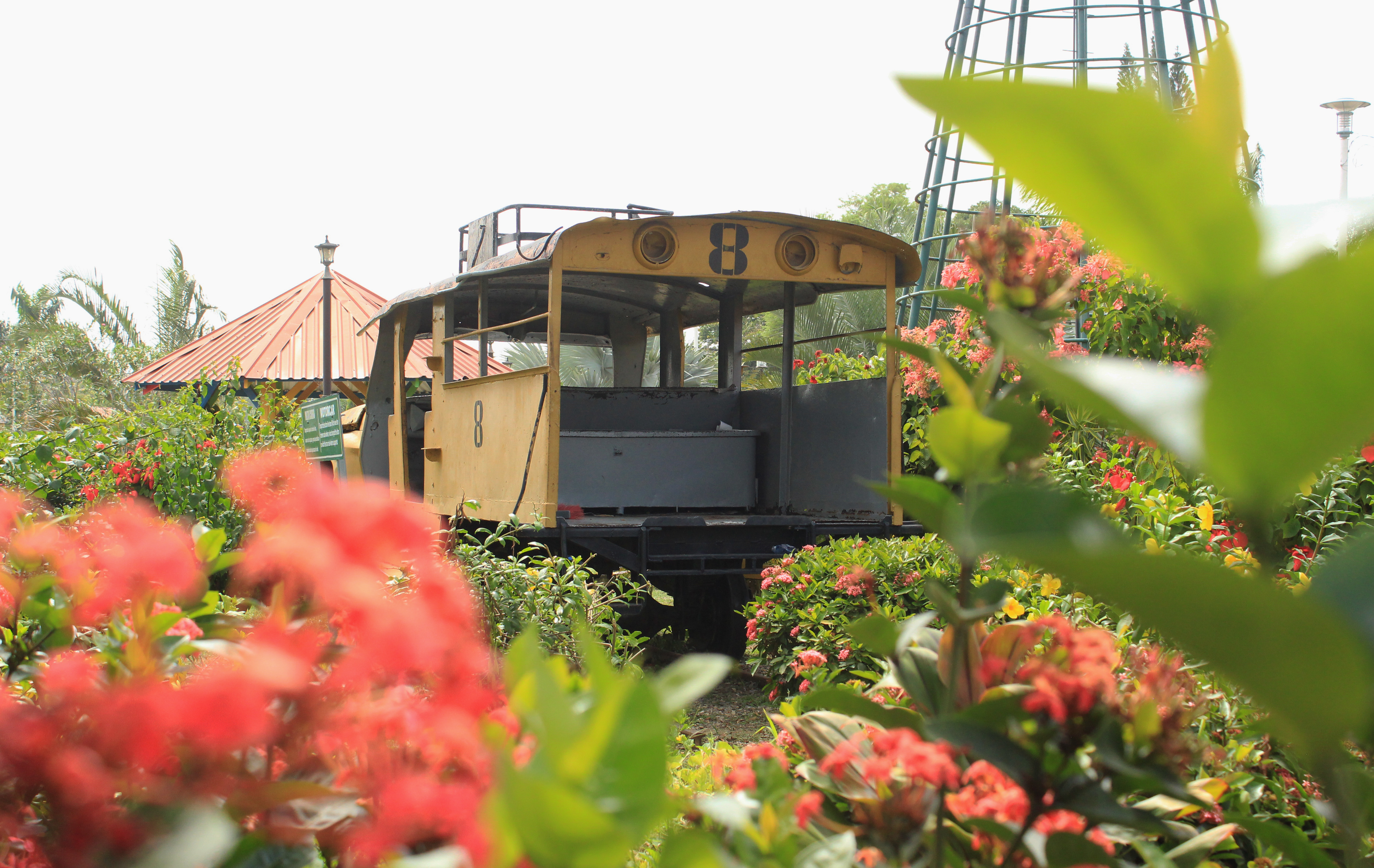 The Progreso Railway Museum in El Progreso is devoted to railways that were built, then dismantled by banana companies. Some residents celebrate children's birthday parties here. (María José Burgos/CBC)