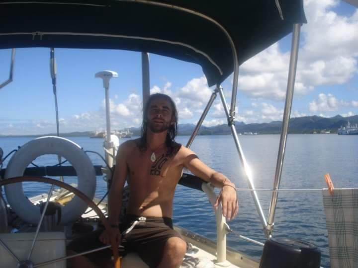 Darragh McCarthy who sailed with Krieger through the Panama Canal and beyond. (Courtesy Darragh McCarthy).