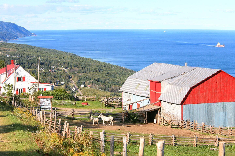 Charlevoix, in the Laurentian mountain range, is one of Quebec's premier tourist destinations. (Bertrand Lemeunier/Tourisme Charlevoix)