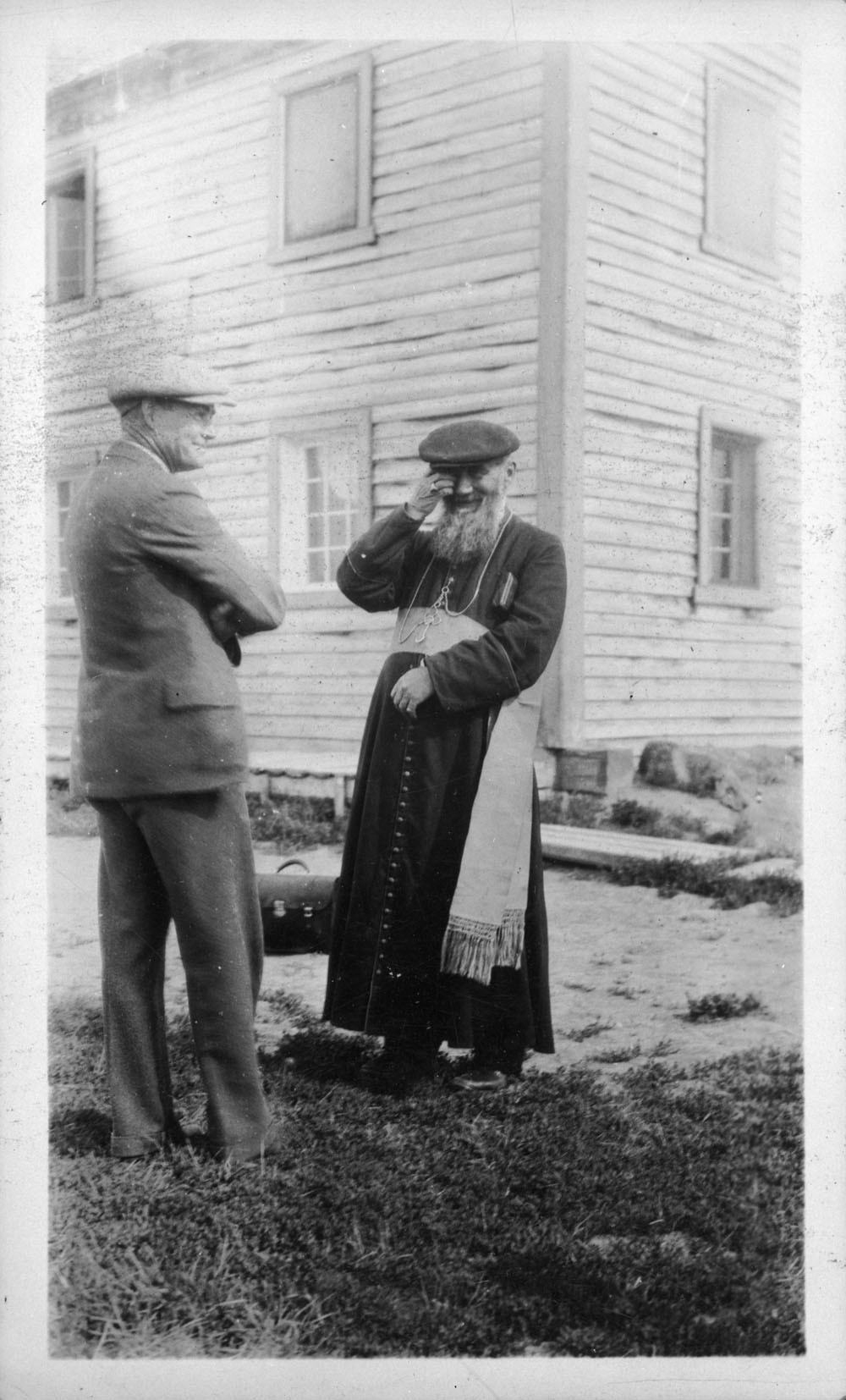 """Bishop Gabriel Breynat, known as the """"flying bishop,"""" oversaw the vast Mackenzie Diocese. He was well-known and trusted by Indigenous communities in the North. (Library and Archives Canada)"""