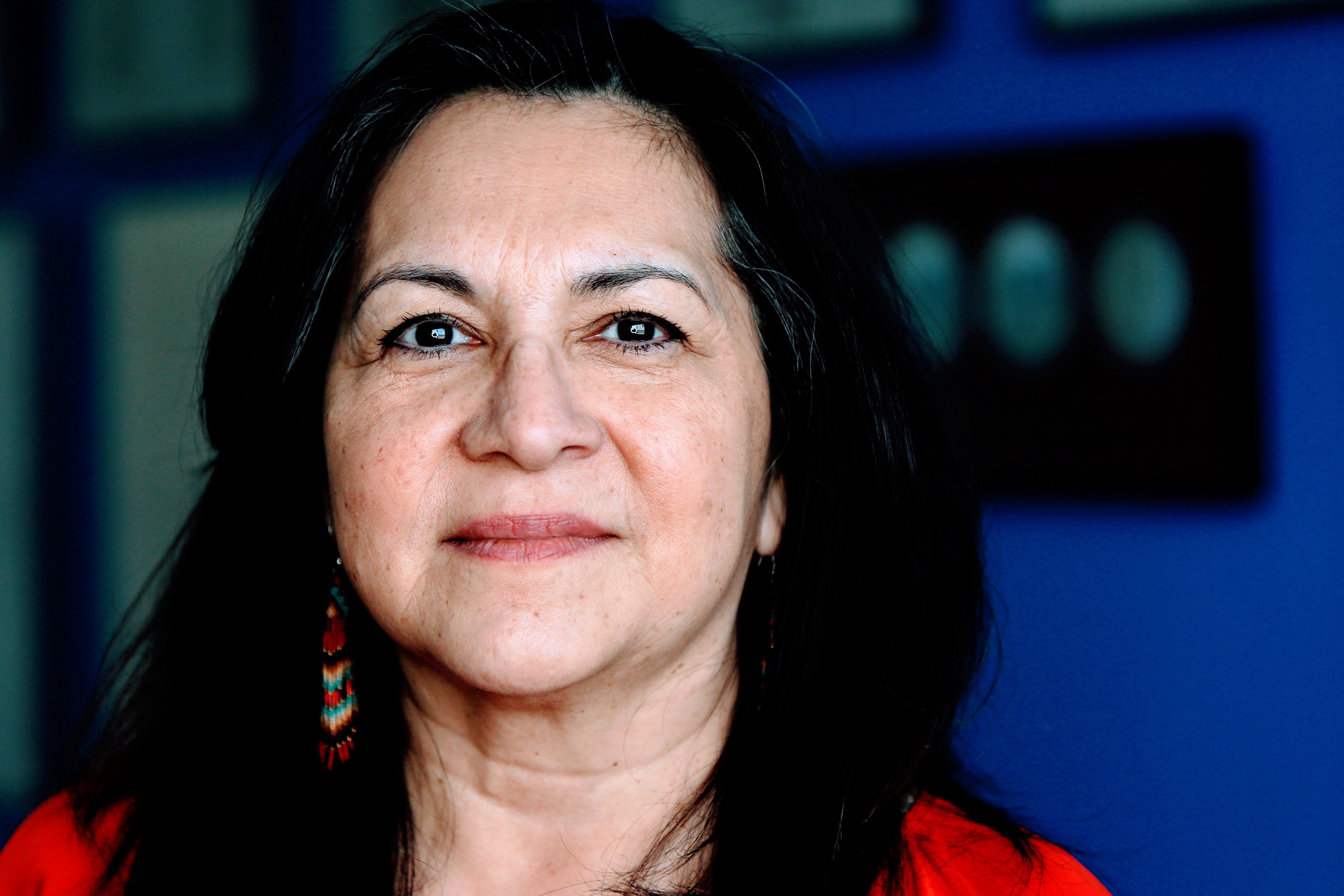 Treaty Commissioner Loretta Ross on correcting flawed history lessons: 'It really is about understanding that relationship.' (Tyson Koschik/CBC)