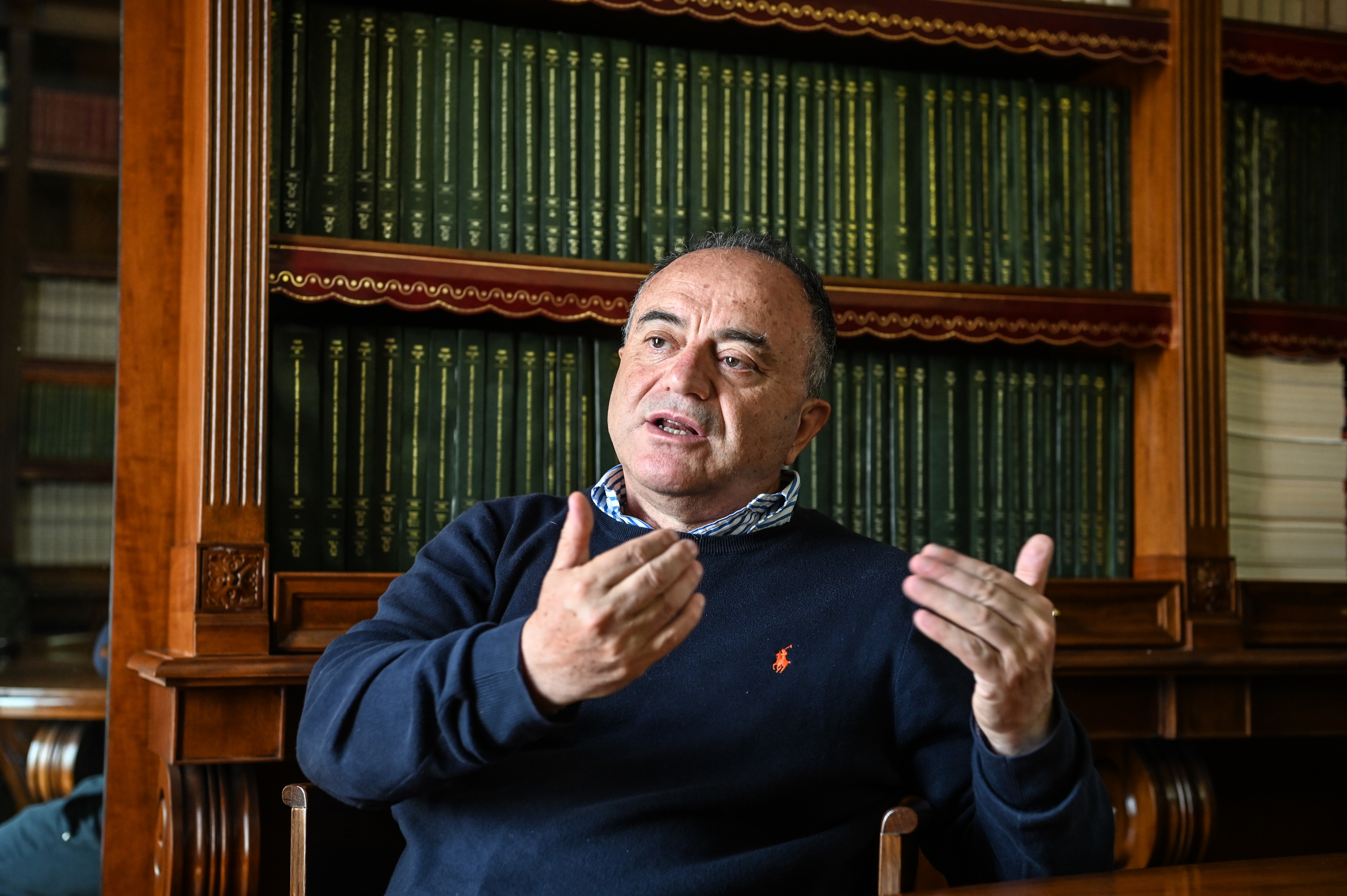 Head public prosecutor Nicola Gratteri is leading the biggest anti-Mafia trial to ever take place in Calabria, with 355 defendants and 900 witnesses. (Chris Warde-Jones)