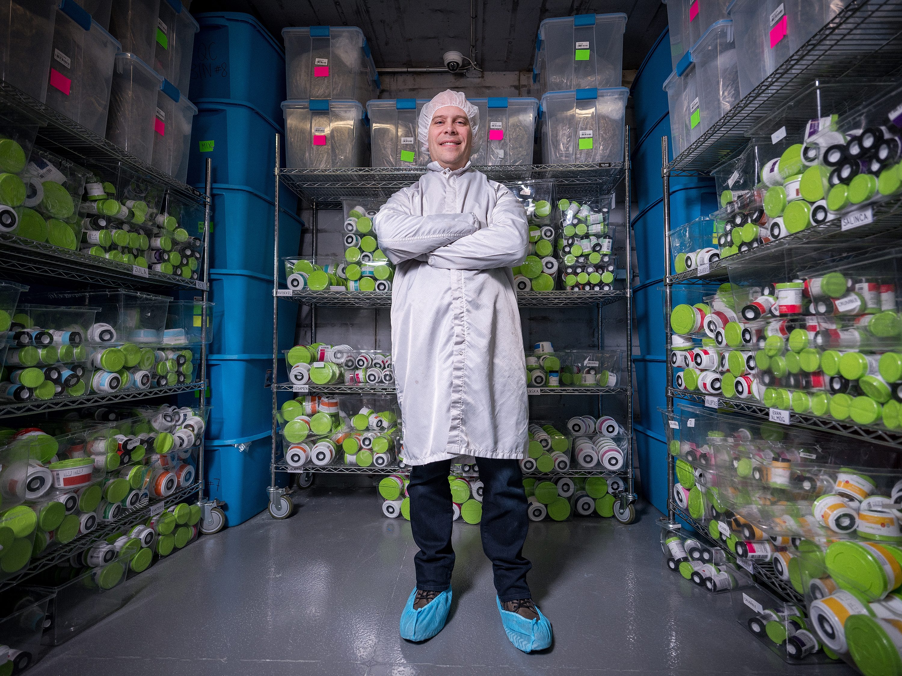 Neil Closner, CEO of Markham, Ont.-based MedReleaf, grew his marijuana business in partnership with an established Israeli medical research firm. (Evan Mitsui/CBC)