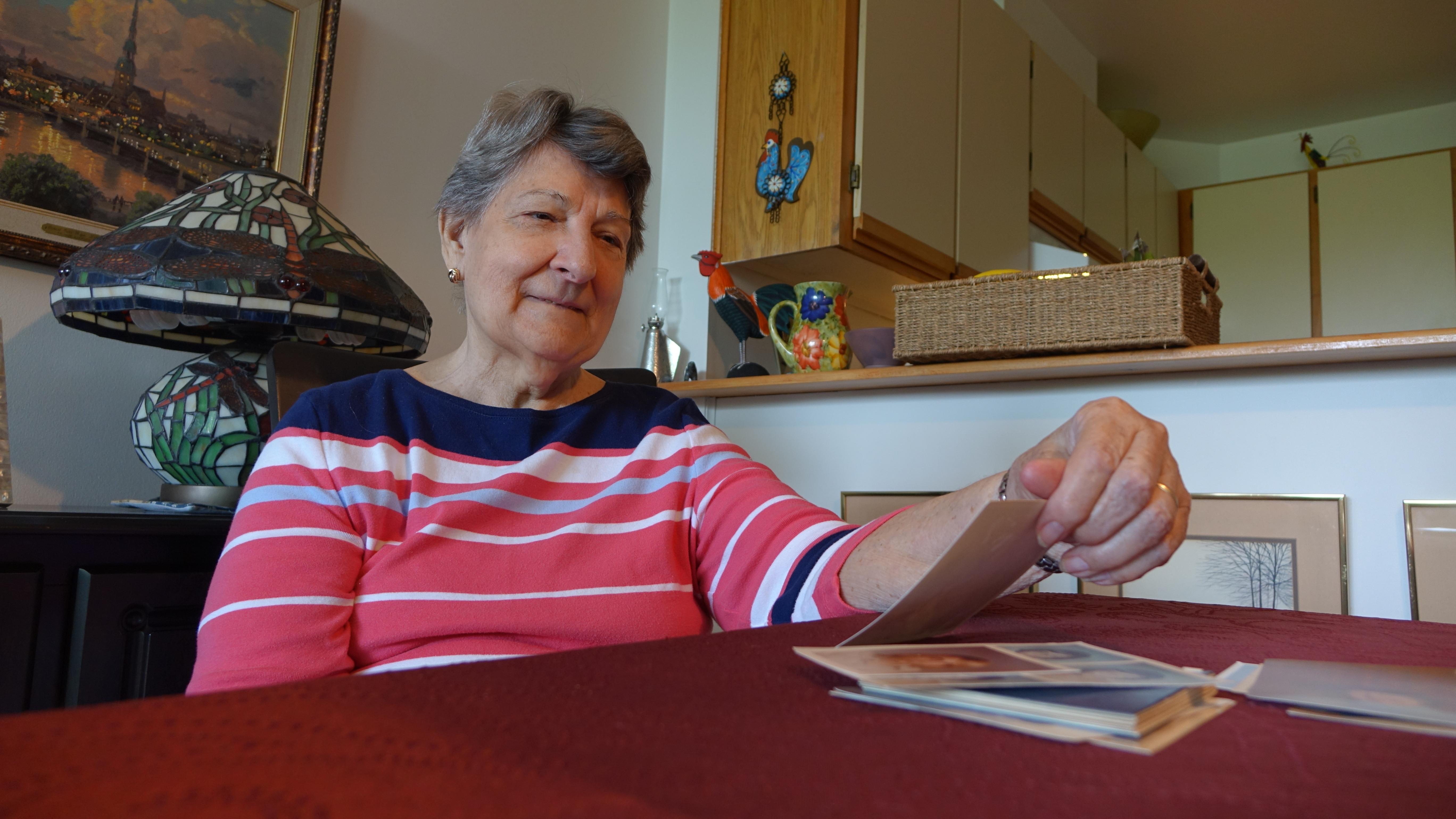 Madeleine Glaus. (Julie Ireton/CBC)