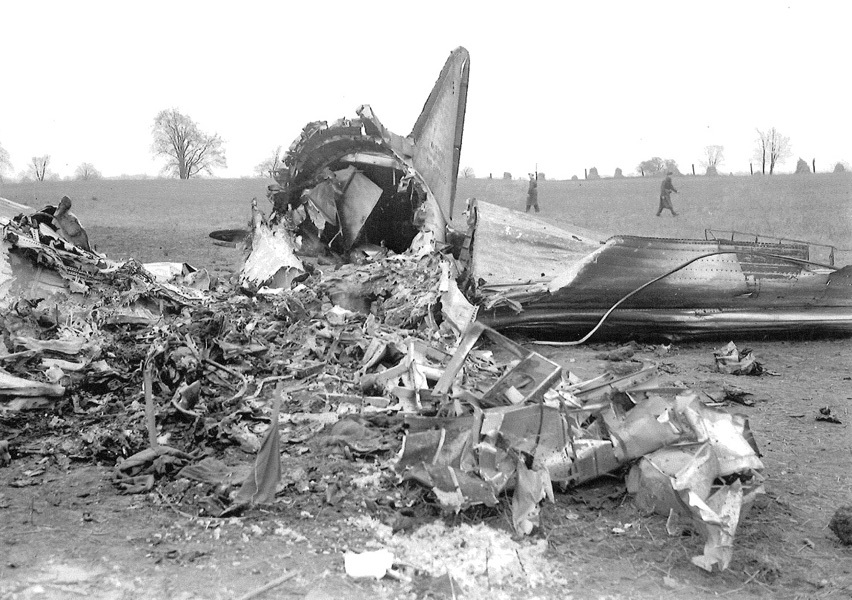The events of the Second World War quickly rendered the crash of Oct. 30, 1941, a distant memory for most. (London Free Press Collection/Western University Archives)
