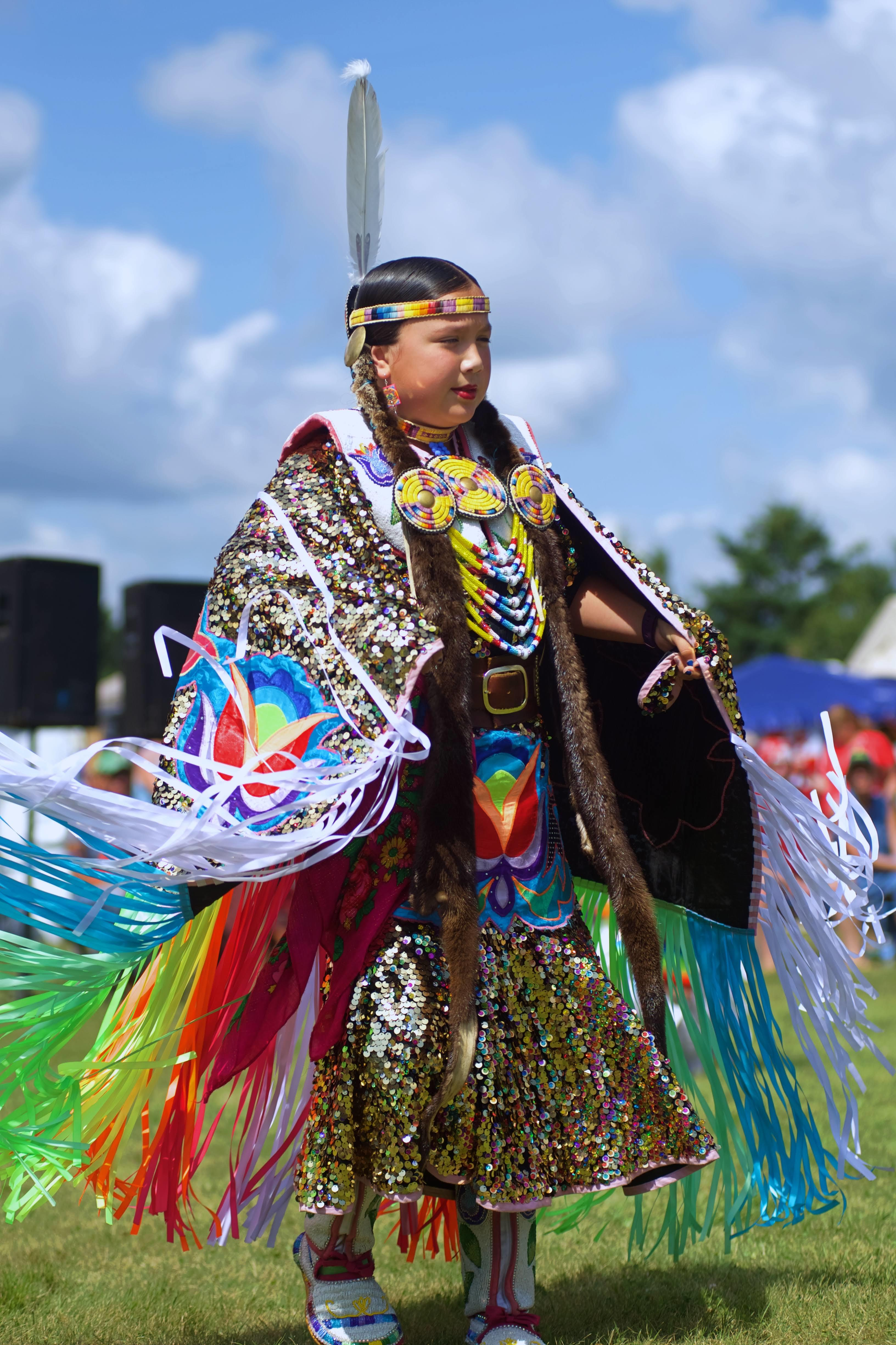 The Native Council of P.E.I.'s 26th annual powwow (shown here) was at Panmure Island Aug. 18 and 19. The last powwow of the year happens on Lennox Island First Nation, on the second last weekend of August. (Patricia Bourque)