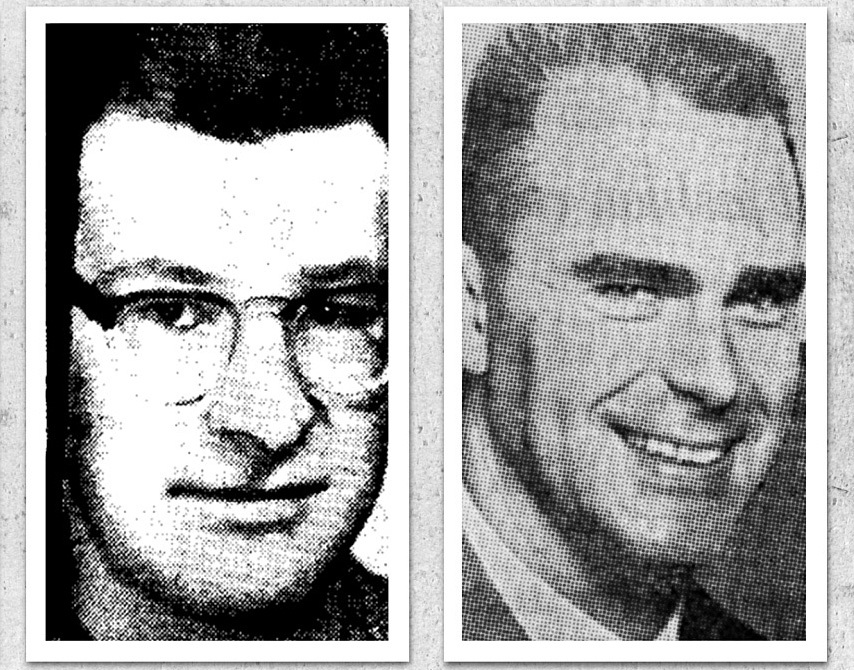 Peter Broughton, left, and Paul Vander Meulen (Vancouver Sun).