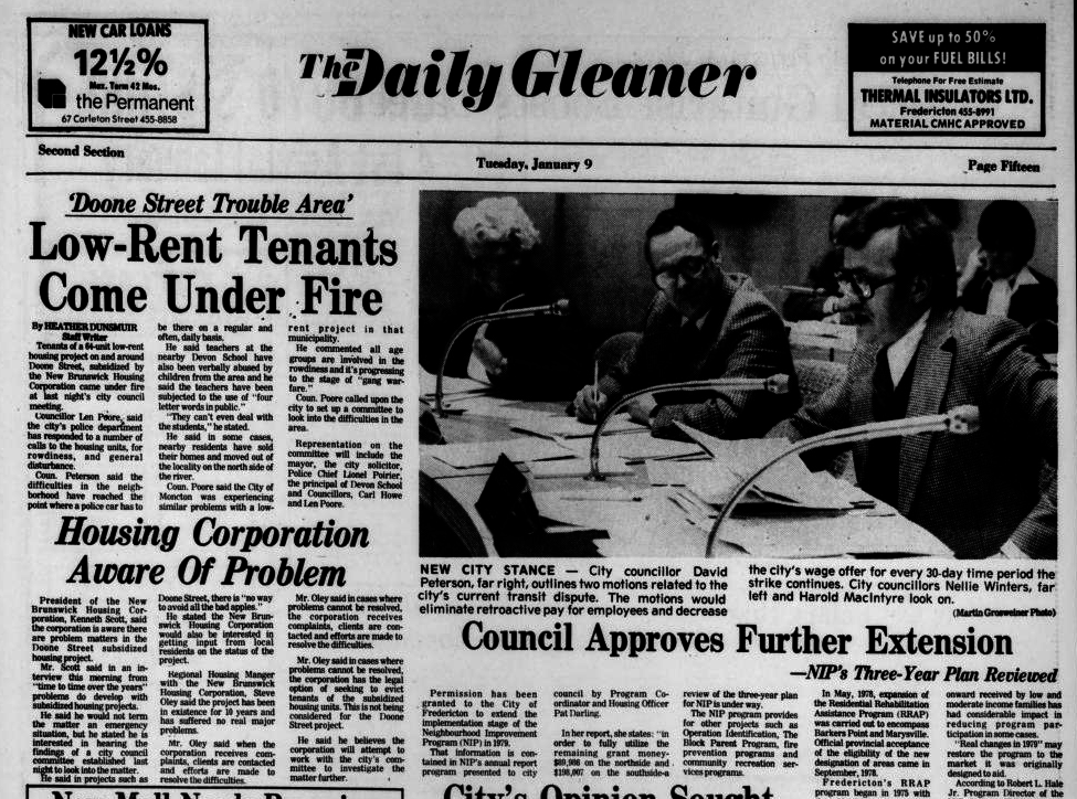 A 1979 Daily Gleaner story about Doone Street.