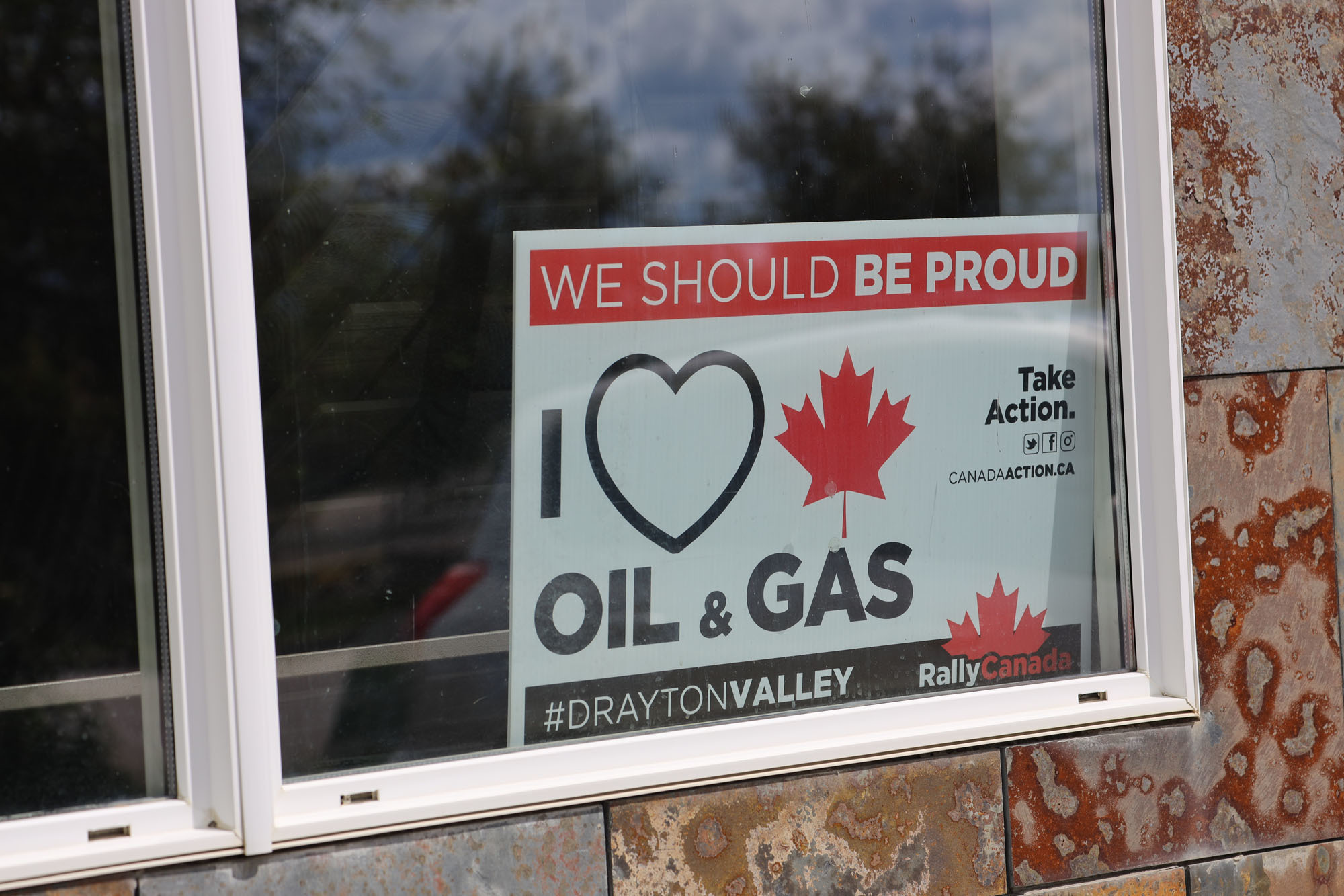 Rally Canada, an advocacy group out of Drayton Valley, was founded in the fall of 2018. (Kory Siegers/CBC)