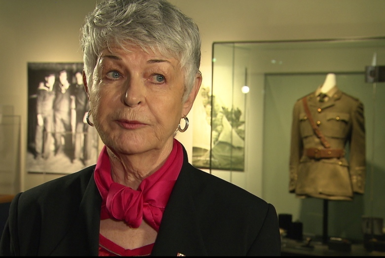 Elinor Gill Ratcliffe's donations paved the way for a dedicated exhibit on the Royal Newfoundland Regiment at The Rooms in St. John's. (CBC)