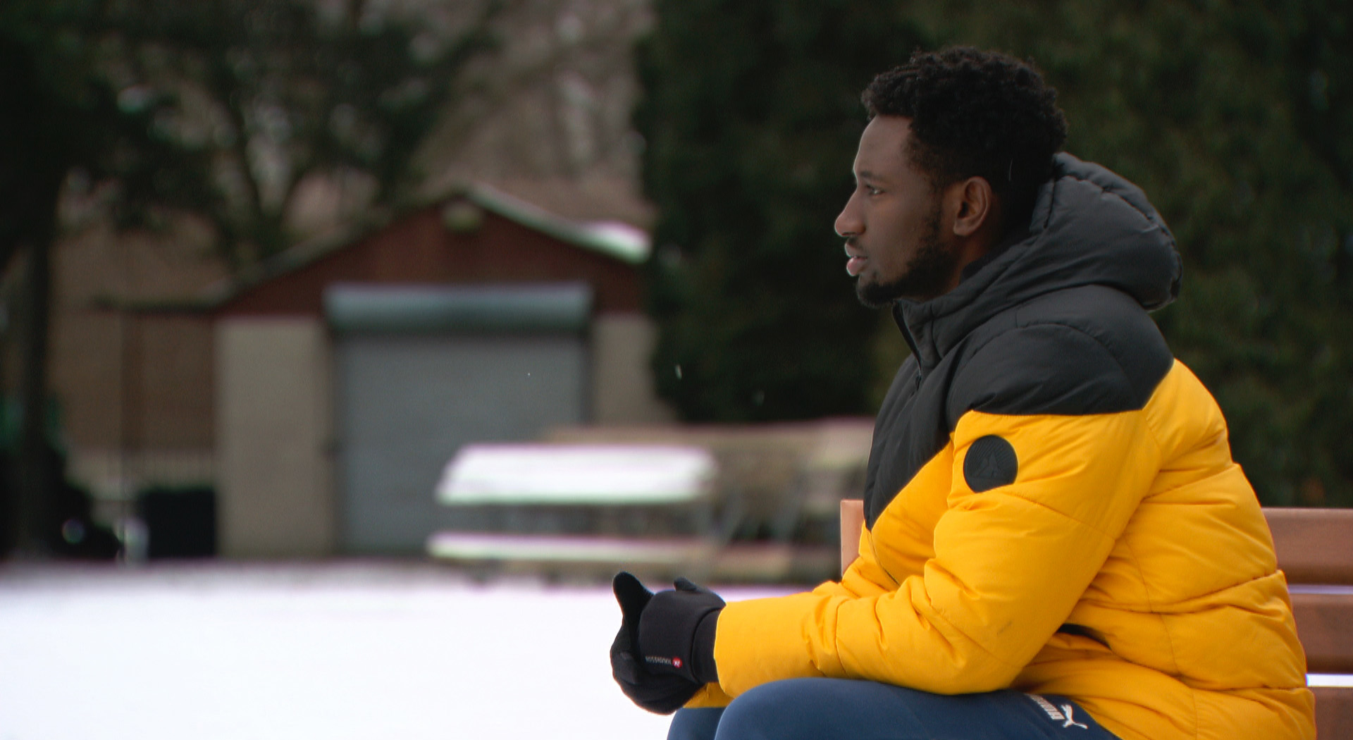 Felix Ndayitwayeko was born in Burundi and lived in a refugee camp in Tanzania before coming to Canada in 2015. (Jon Castell/CBC)