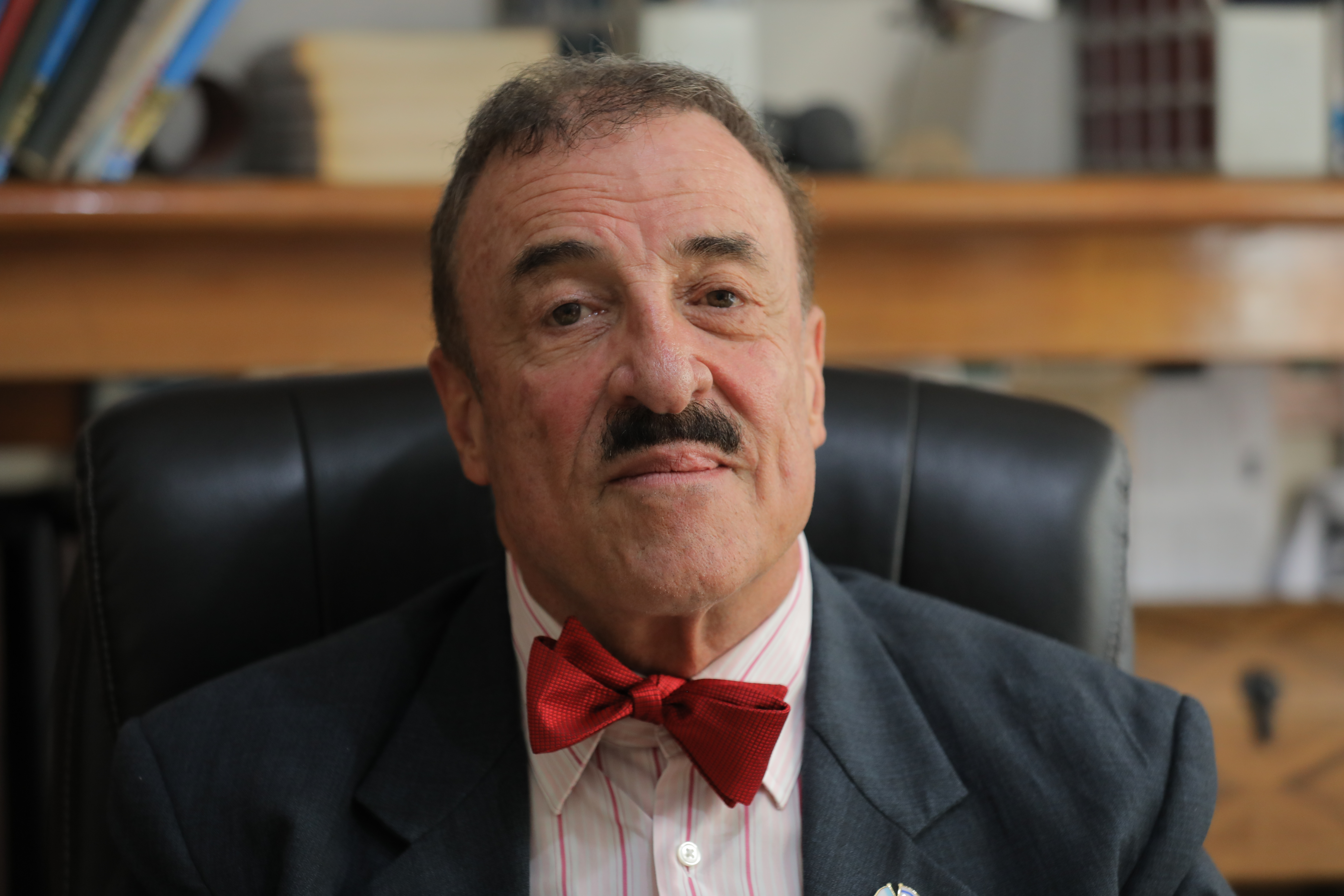 Guatemalan Congressman Fernando Linares Beltranena is behind legislation that would give amnesty to perpetrators convicted of serious war crimes in the country's civil conflict. (Ousama Farag/CBC)