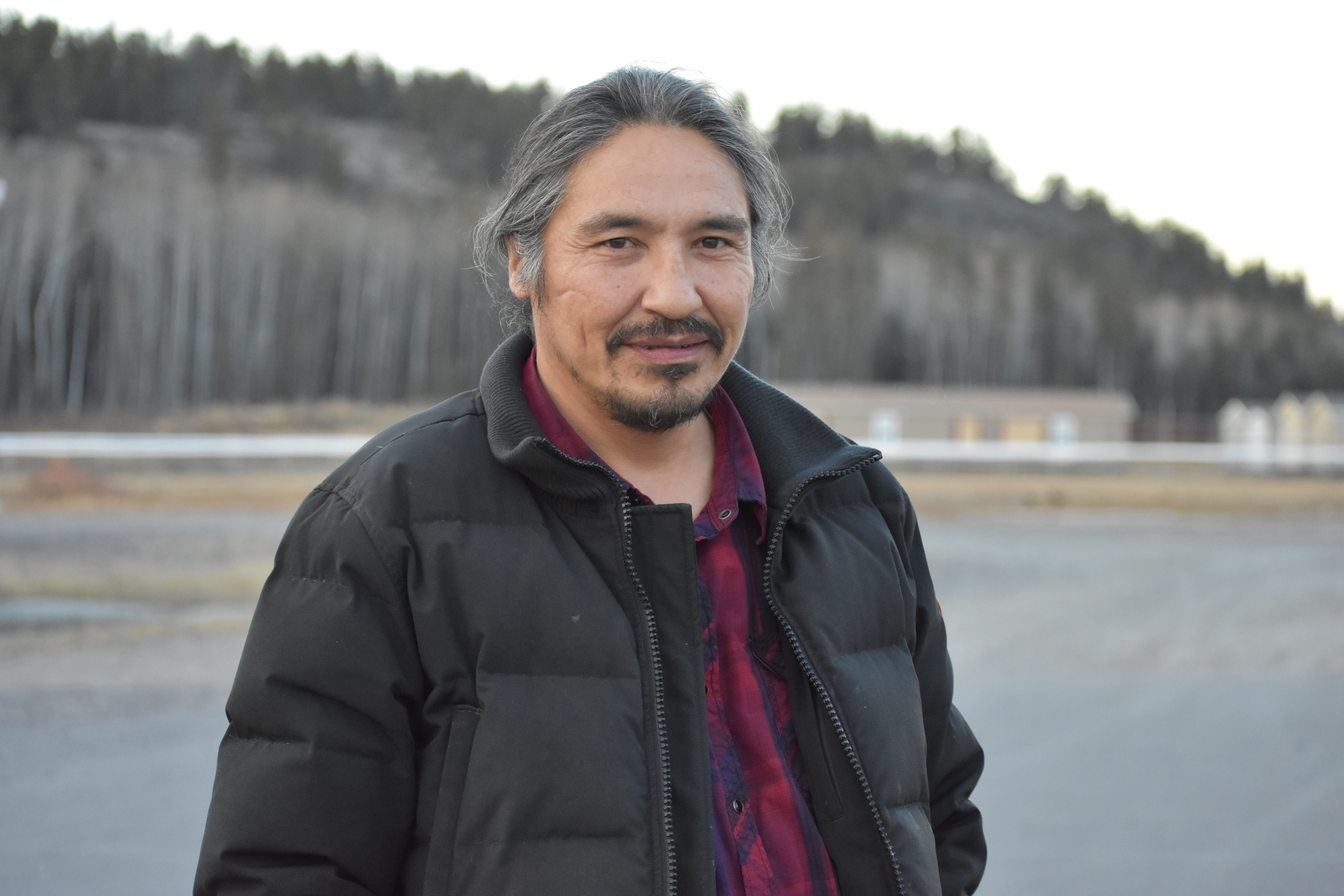 Allan Adam is chief of the Athabasca Chipewyan First Nation. (Geneviève Normand/CBC Radio-Canada)