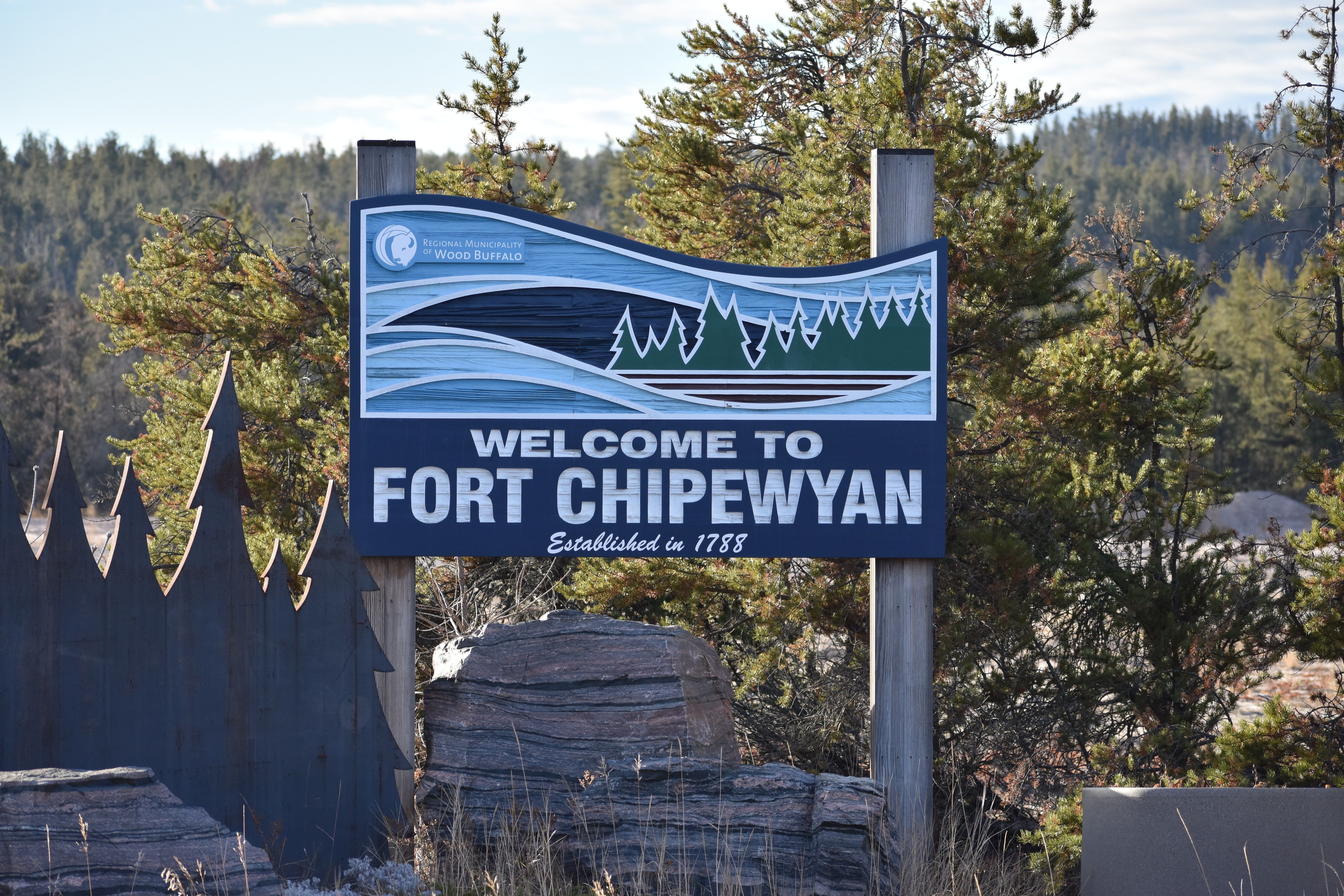 Fort Chipewyan is home to about 900 people. (Geneviève Normand/CBC Radio-Canada)