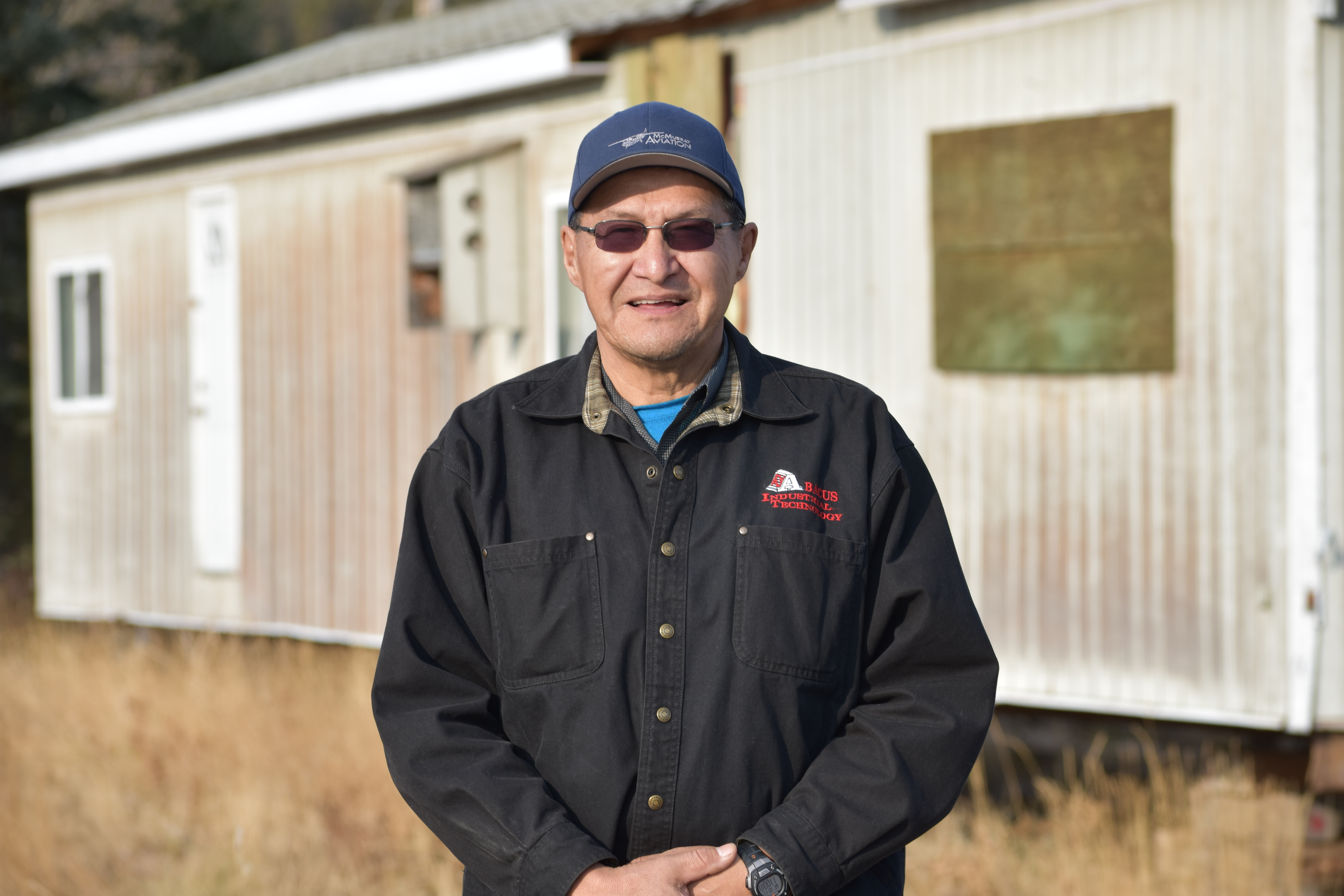 Gerald Gibot has worked in the oilsands and has also spent time living off the land. (Geneviève Normand/CBC Radio-Canada)