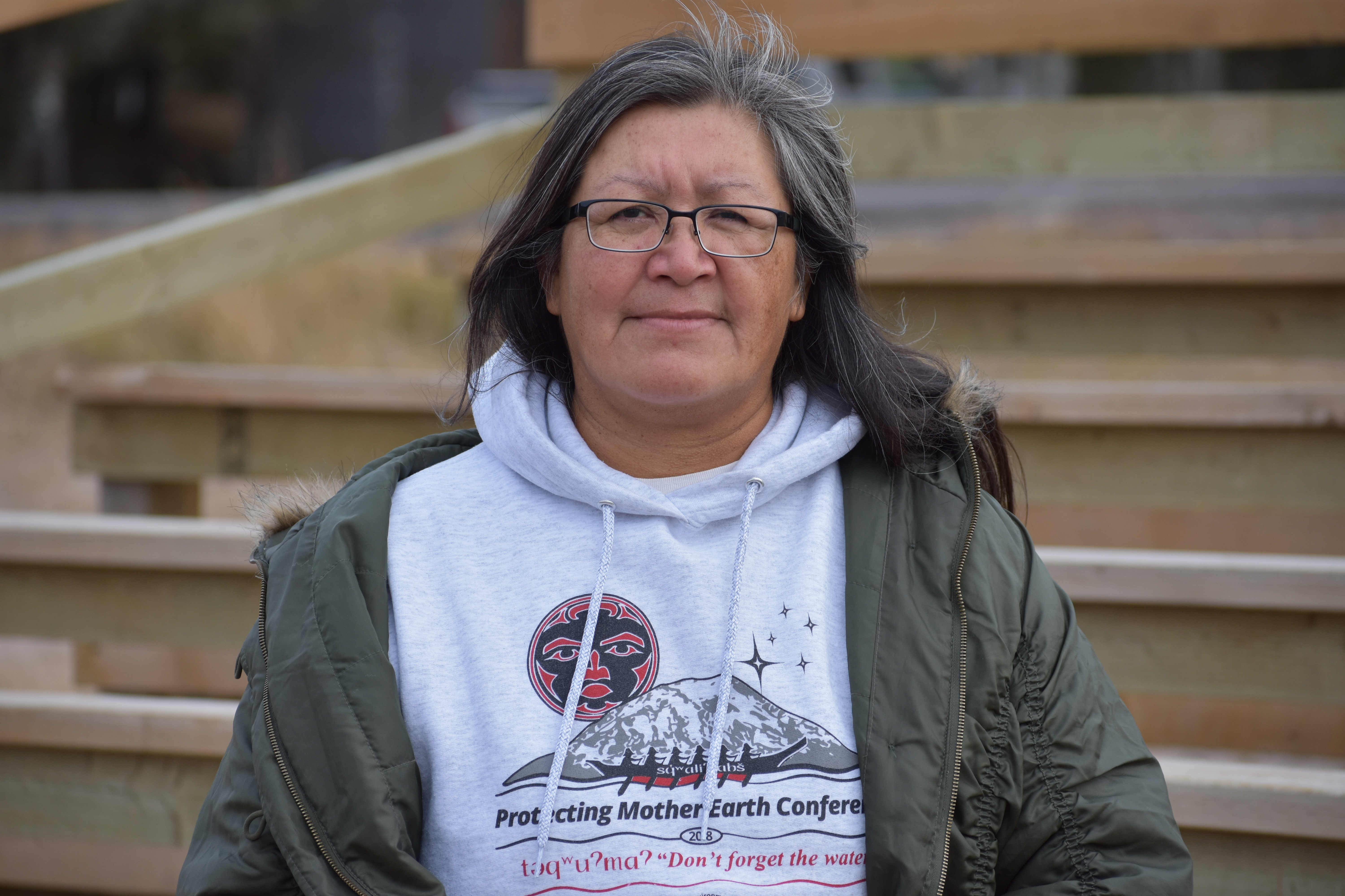 Jean L'hommecourt is strongly opposed to the development of oilsands projects. (Geneviève Normand/CBC Radio-Canada)