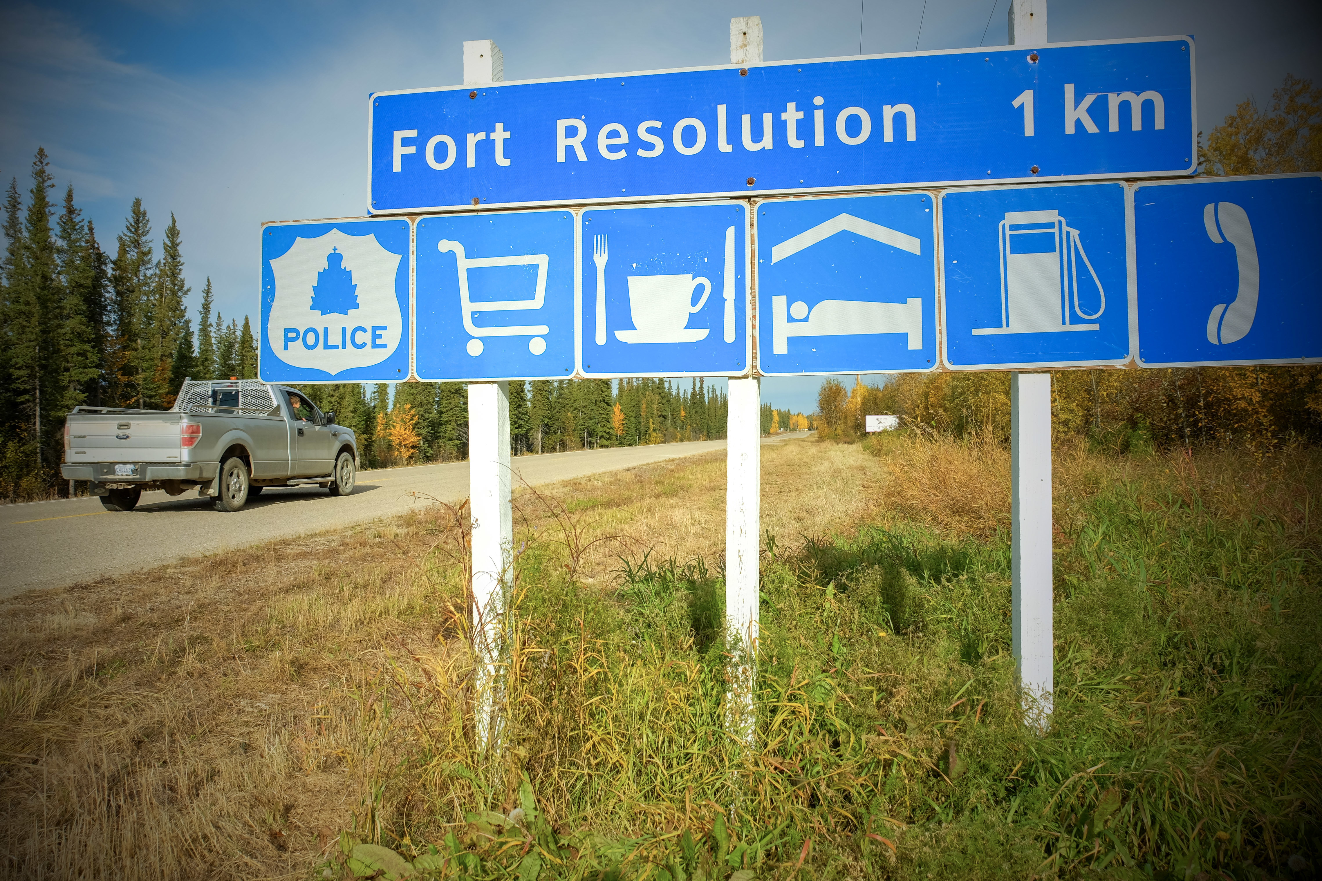 Work is hard to come by in Fort Resolution, but the hamlet is trying to create opportunities. (Graham Shishkov/CBC)