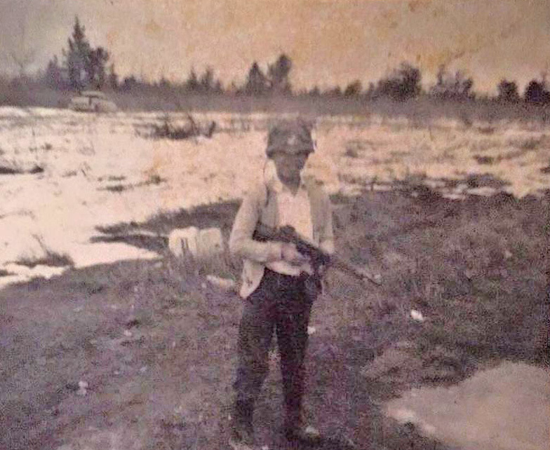 Francis Simon's younger brother, Bryant, died of cancer at age nine while a student at Shubenacadie Indian Residential School. (Submitted by Francis Simon)