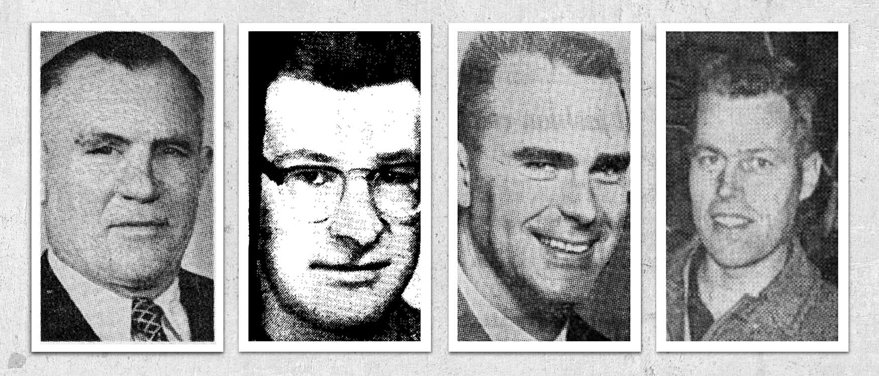 From left: Stefan Koleszar, Peter Broughton, Paul Vander Meulen and Douglas Edgar.