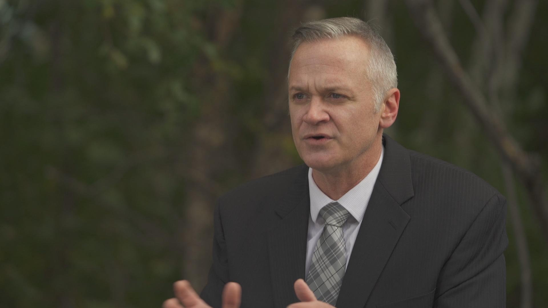 Matt Skof is president of the Ottawa Police Association. (Jean-François Benoît/CBC)