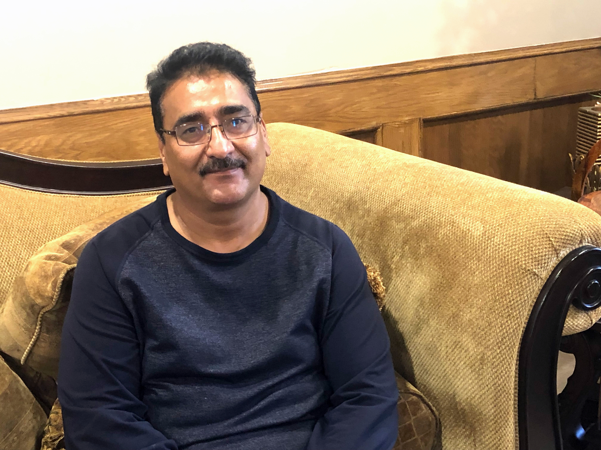 Tariq Chaudhry says he signed up hundreds of members without them paying, which is against the UCP rules. (Carolyn Dunn/CBC)
