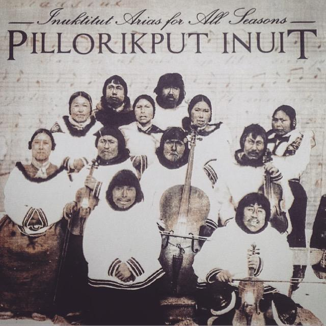 The CD cover for Inuktitut Arias for All Seasons. (Angela Antle/CBC)