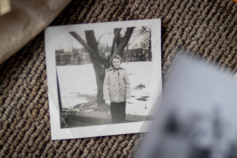 Ross-Brimble as a young girl. (Robert Short/CBC)