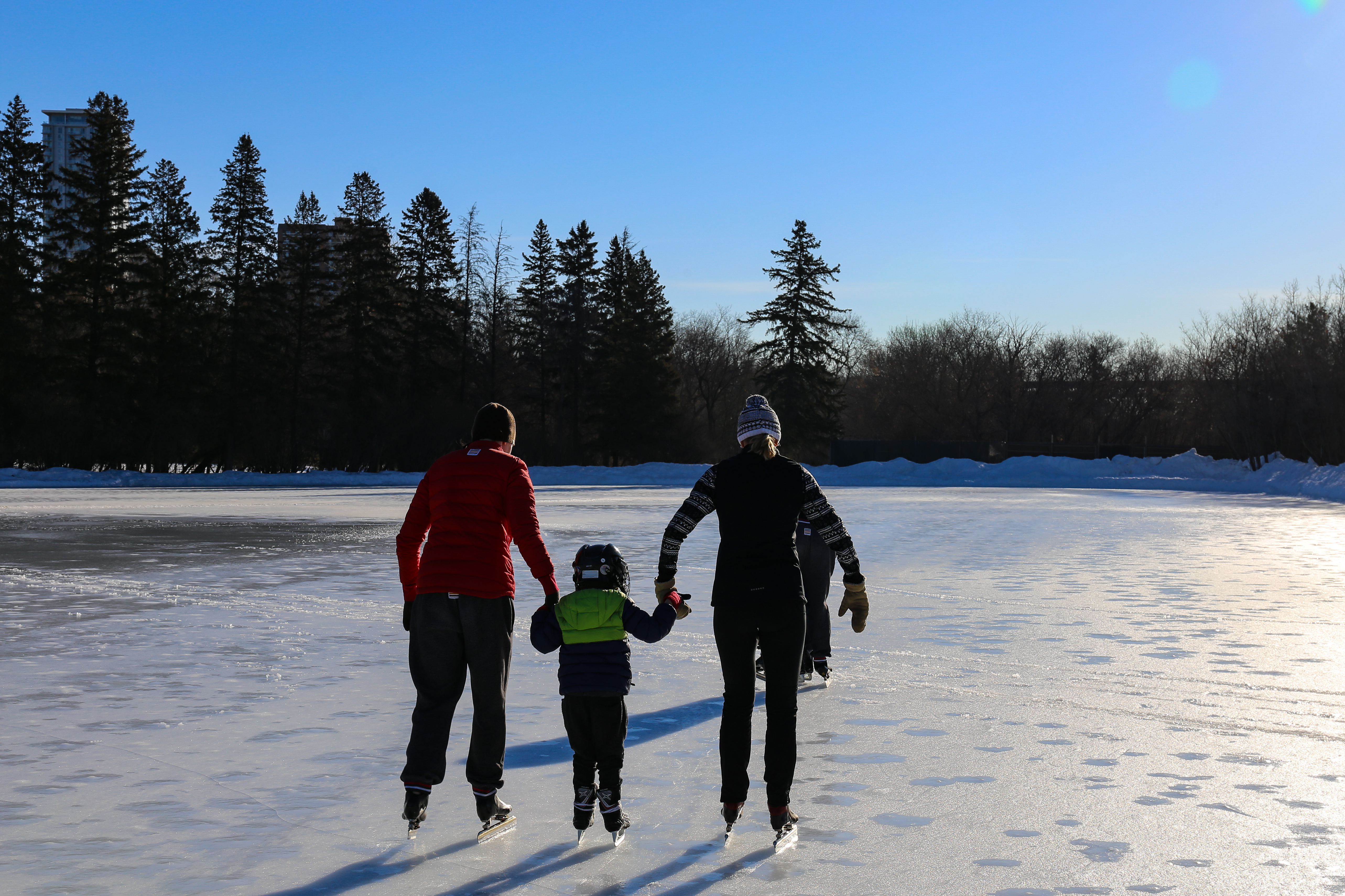 When the next generation of Gregg kids is ready to try speed skating, their parents will be there to cheer them on. (Emily Rendell-Watson/CBC)