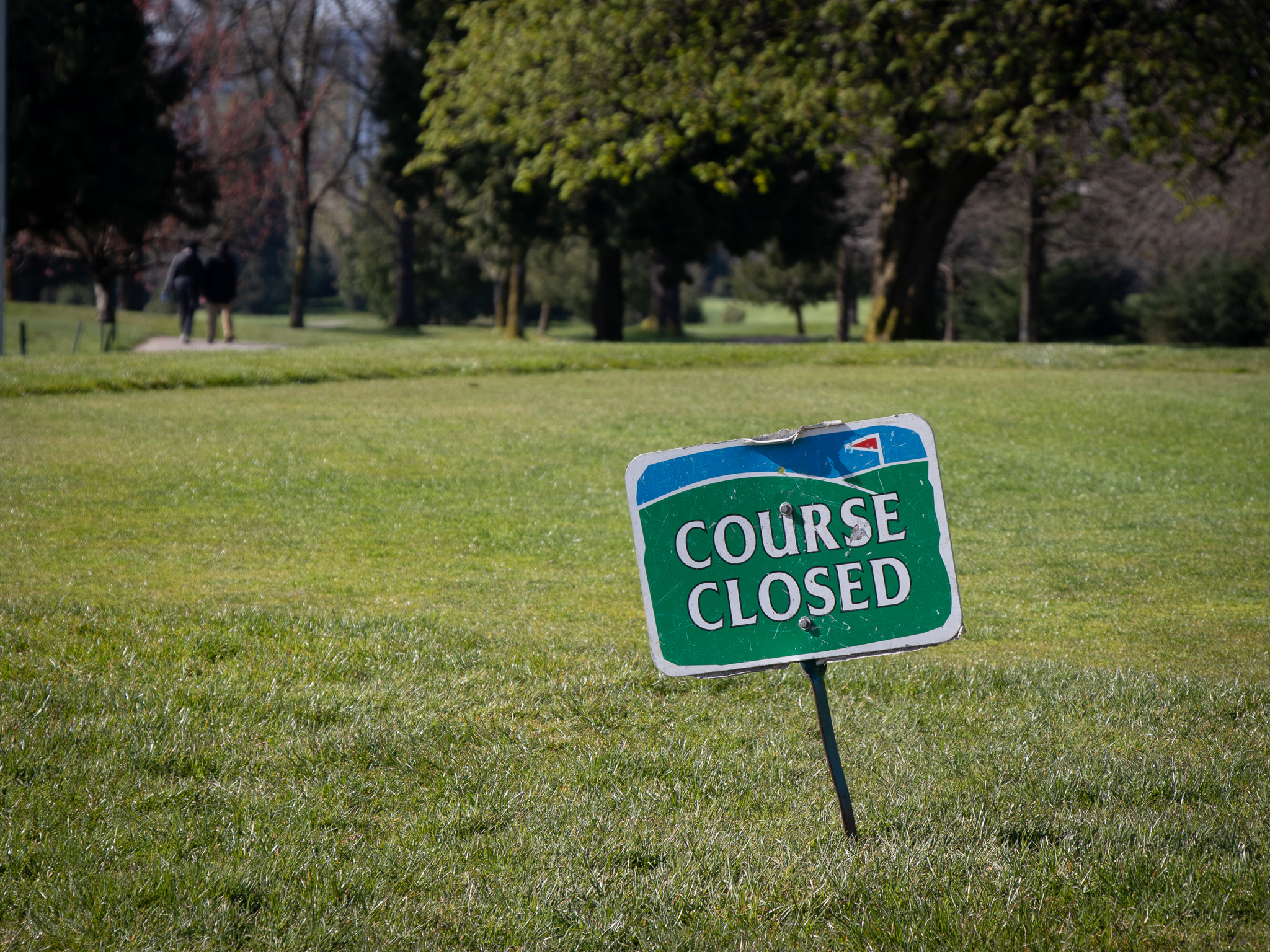 The Langara Golf Course is one of three golf courses the City of Vancouver has closed because of COVID-19 concerns.