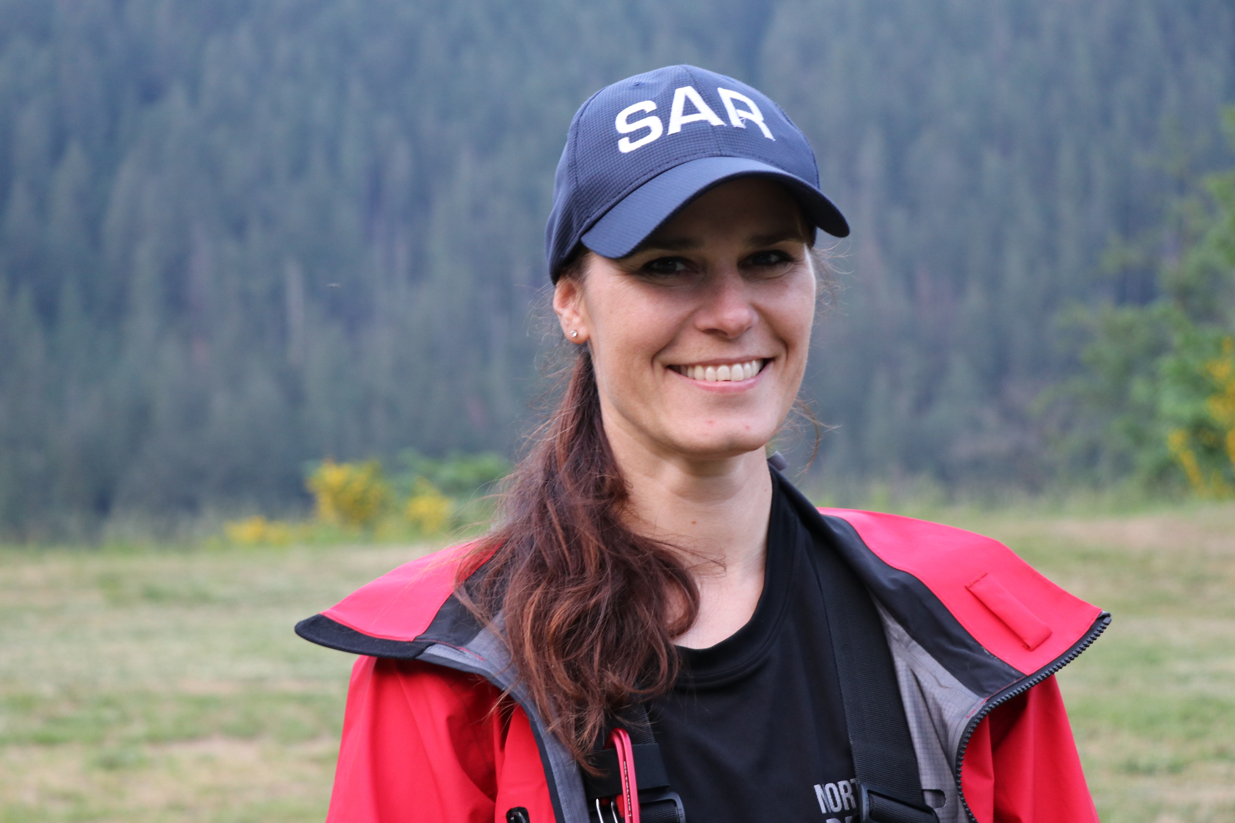 Maria Masiar recently completed the gruelling two-year training program to become a full-fledged member of NSR. (Clare Hennig/CBC)