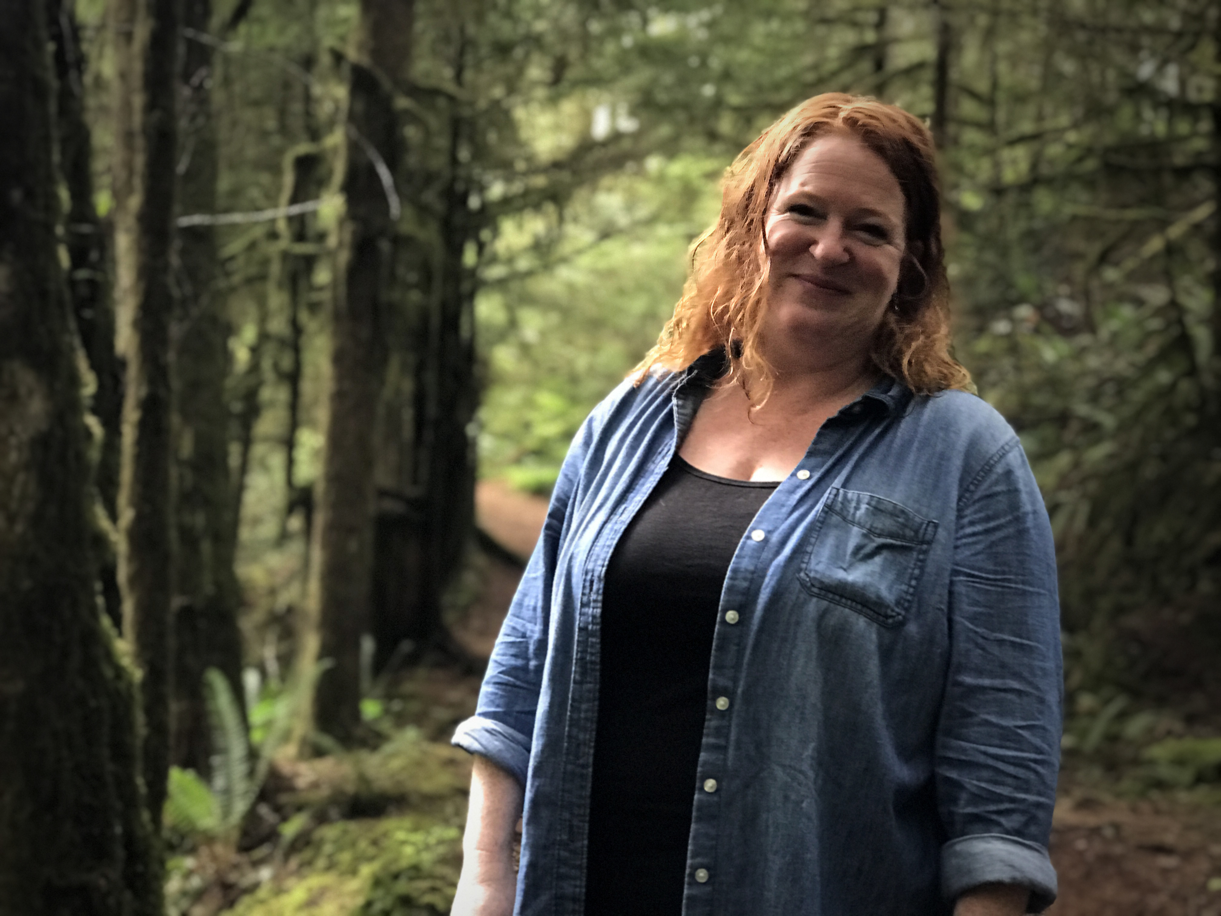 Meaghan Cursons is executive director of the Cumberland Community Forest Society. (Megan Thomas/CBC)