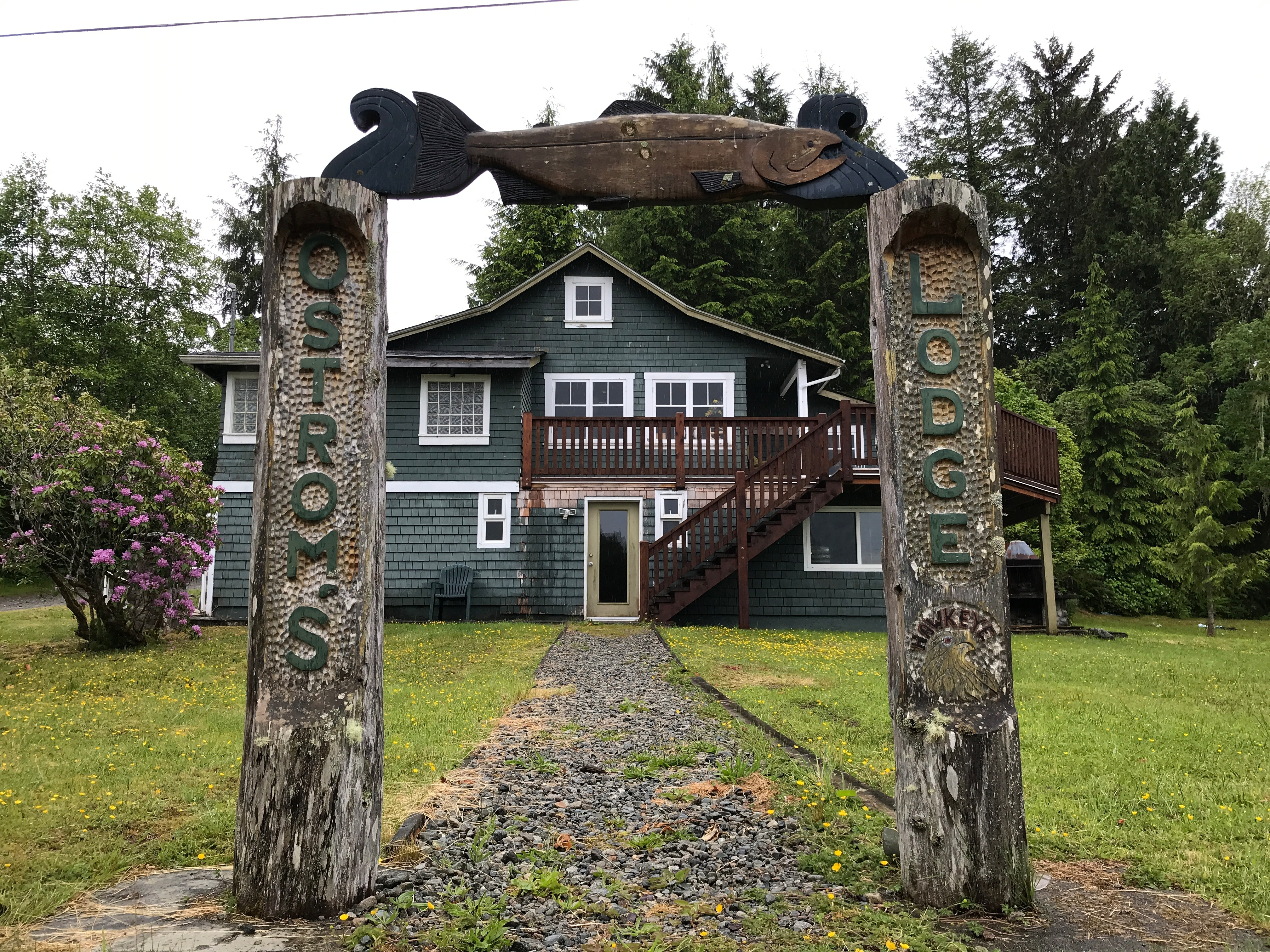 Ostrom's Lodge is one of 11 tourism properties purchased in 2016 by the Huu-ay-aht. (Megan Thomas/CBC)